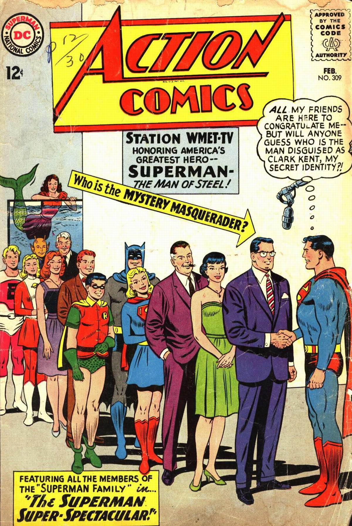 Read online Action Comics (1938) comic -  Issue #309 - 1