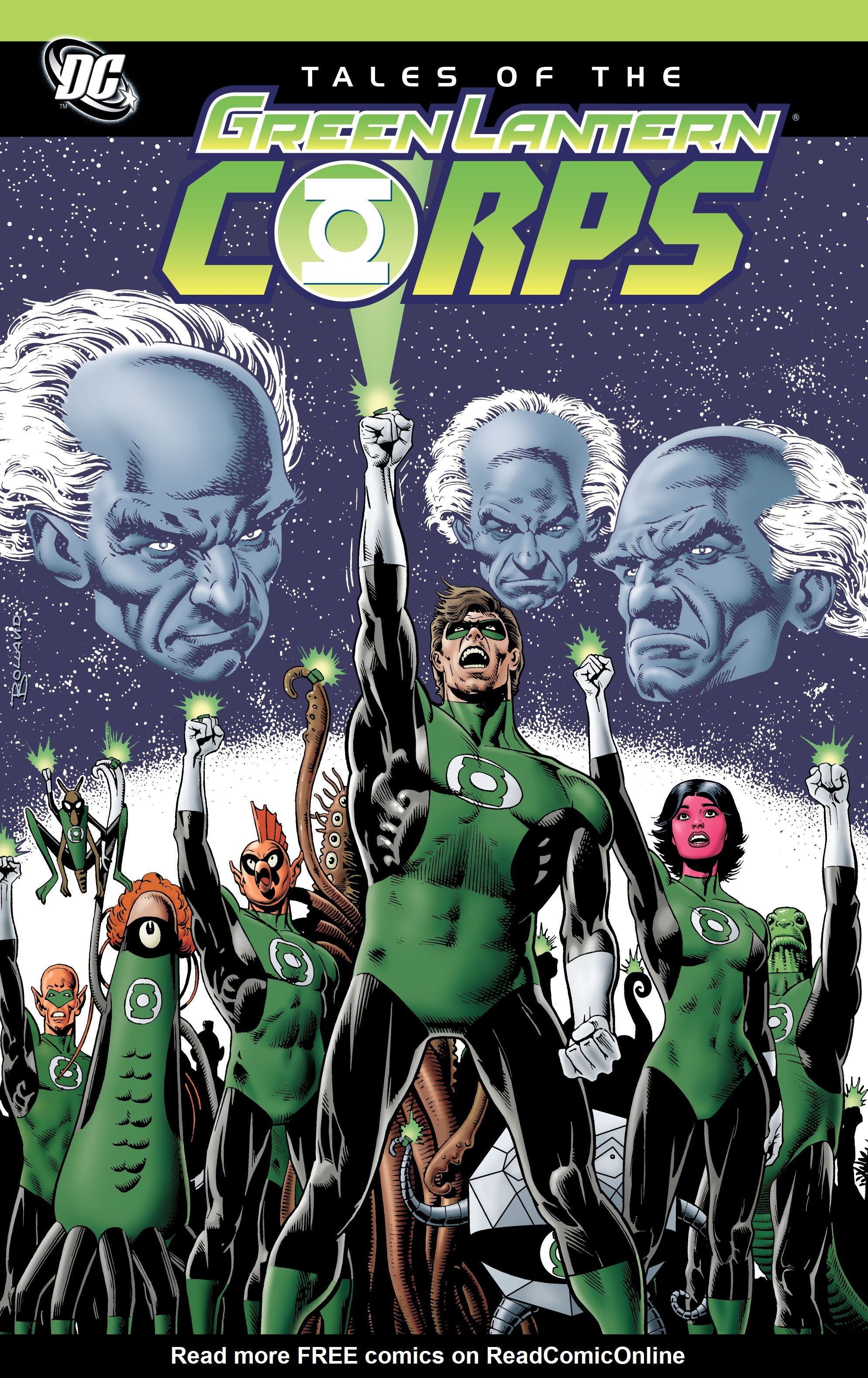 Tales of the Green Lantern Corps issue _TPB_1 - Page 1