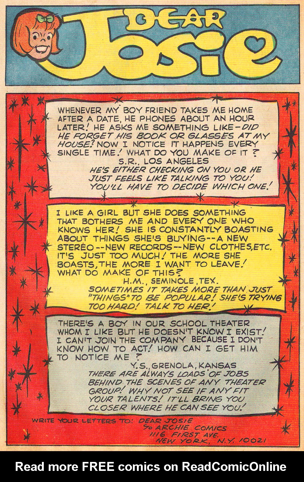 Read online She's Josie comic -  Issue #53 - 26