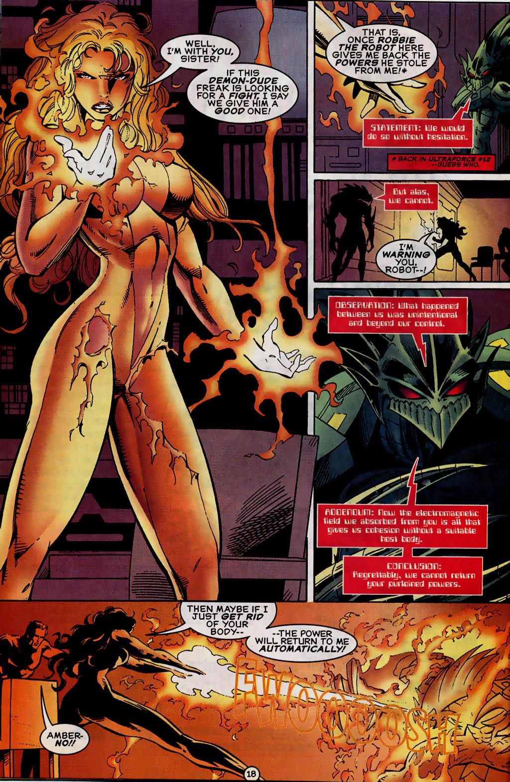 Read online UltraForce (1995) comic -  Issue #13 - 19