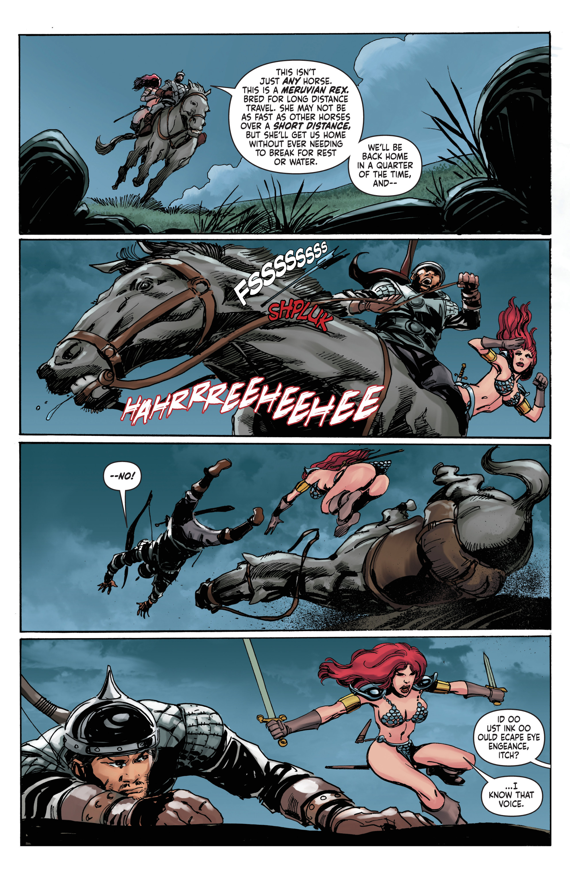Read online Red Sonja: The Long Walk To Oblivion comic -  Issue # Full - 13