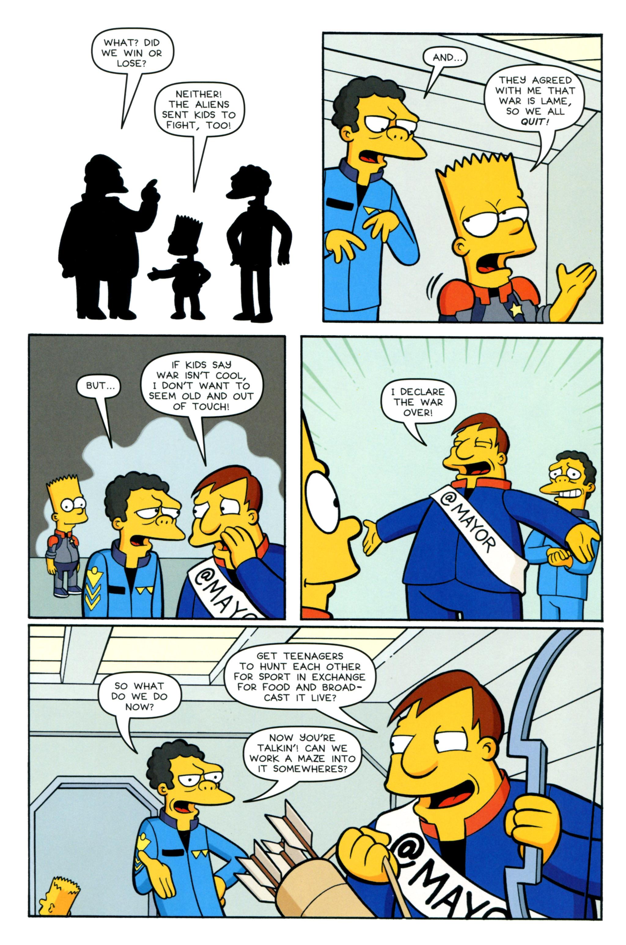 Read online Simpsons Comics comic -  Issue #218 - 23