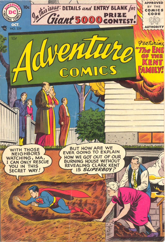 Read online Adventure Comics (1938) comic -  Issue #229 - 1