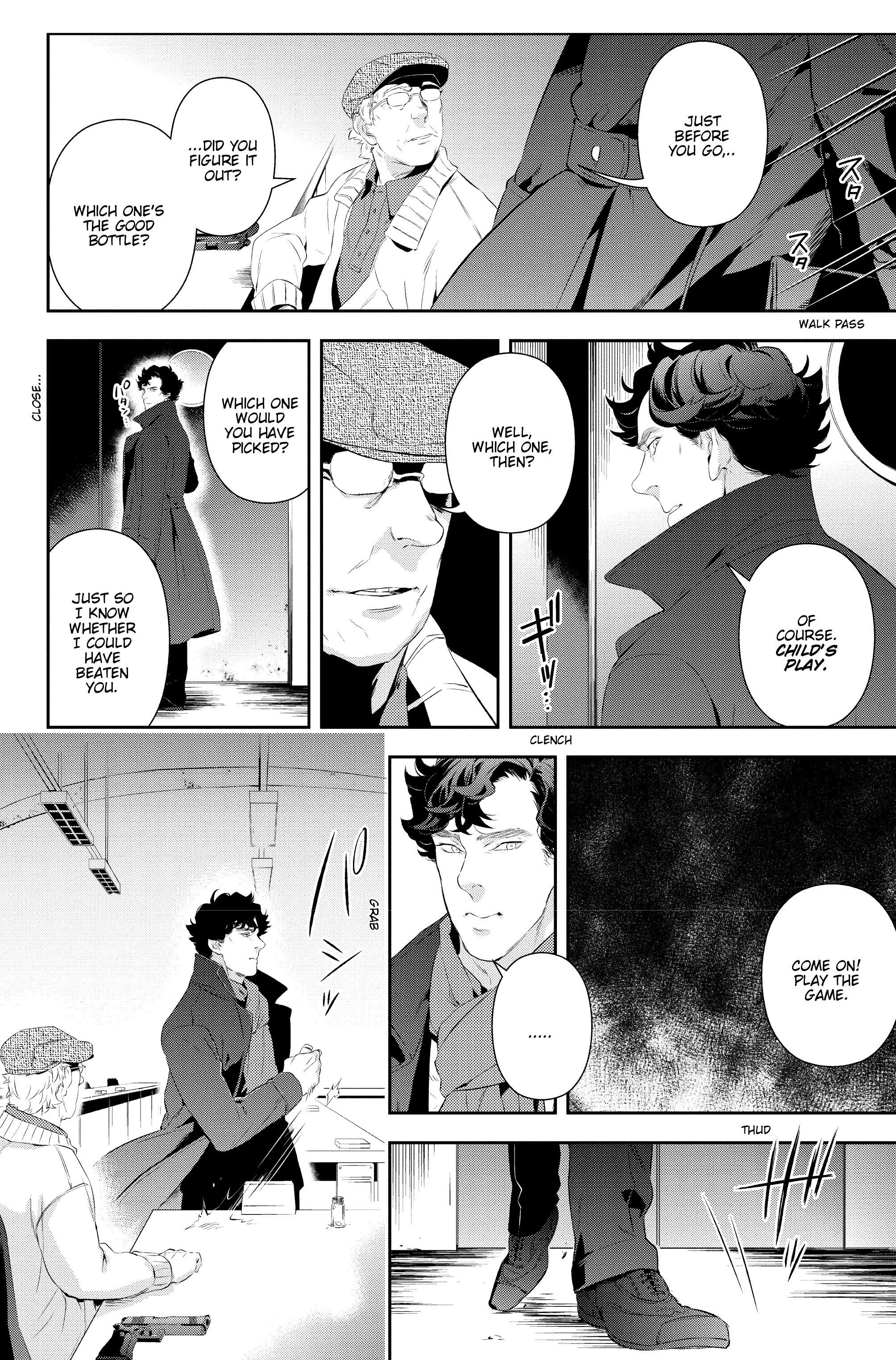 Read online Sherlock: A Study In Pink comic -  Issue #6 - 19