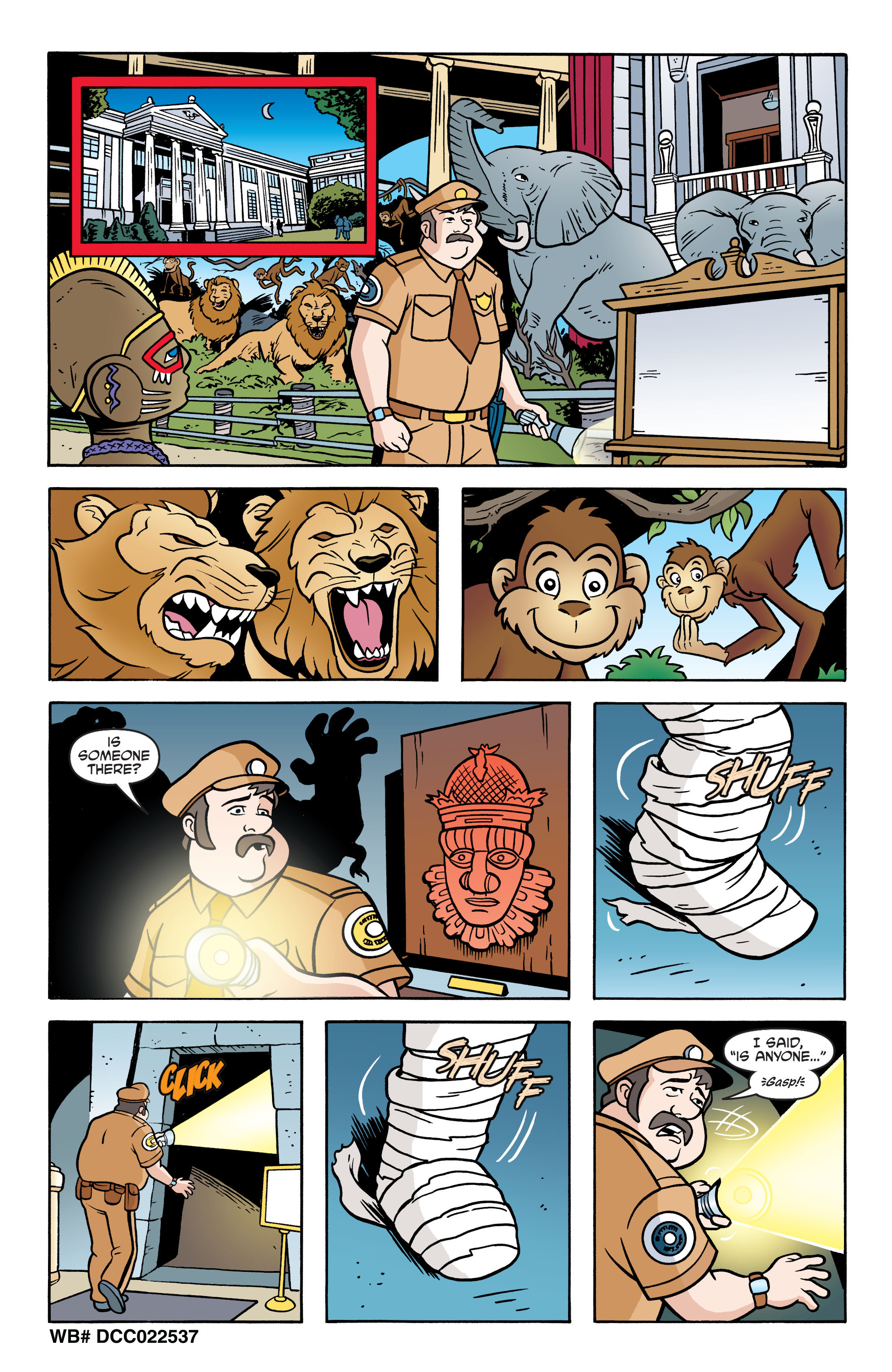 Read online Scooby-Doo: Where Are You? comic -  Issue #62 - 12