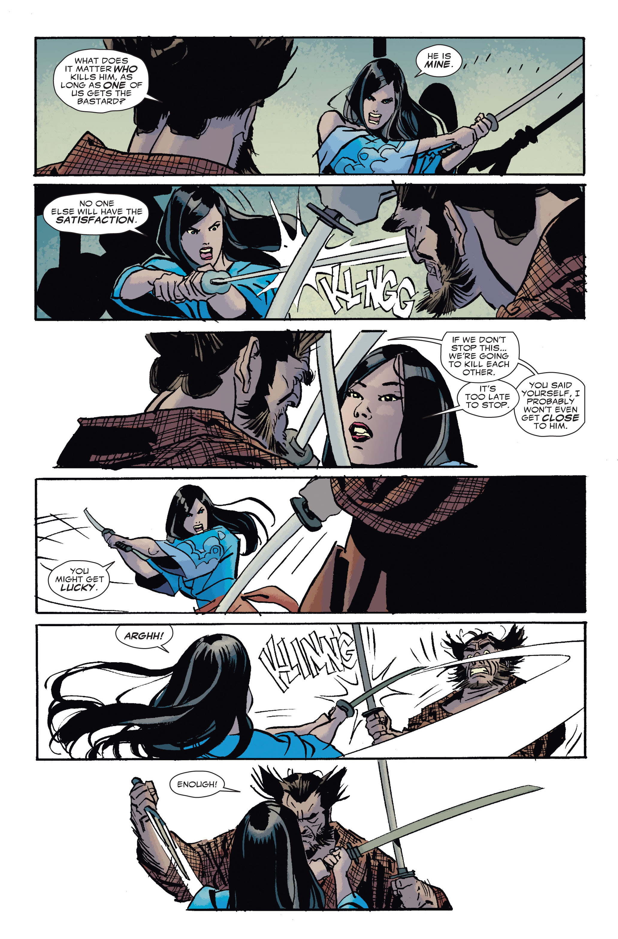 Read online 5 Ronin (2011) comic -  Issue #4 - 19