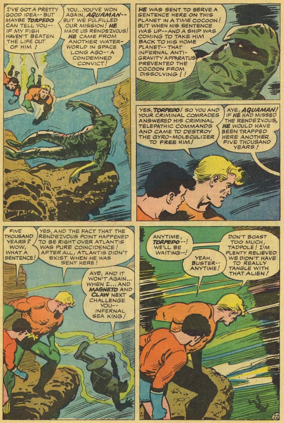 Read online Aquaman (1962) comic -  Issue #36 - 32