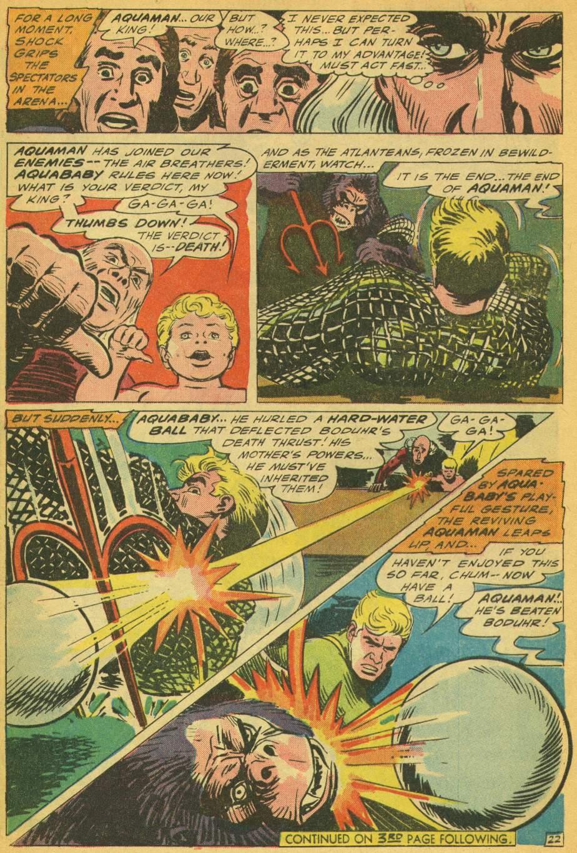 Read online Aquaman (1962) comic -  Issue #28 - 28