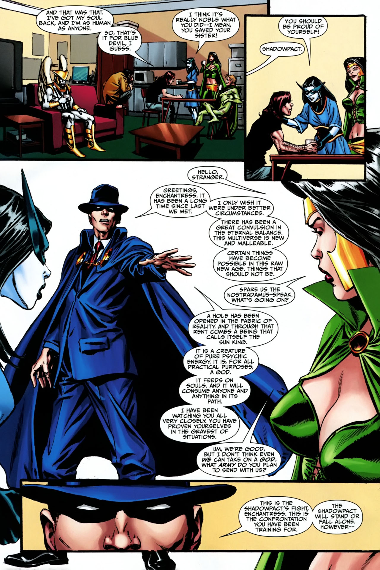 Read online Shadowpact comic -  Issue #23 - 20