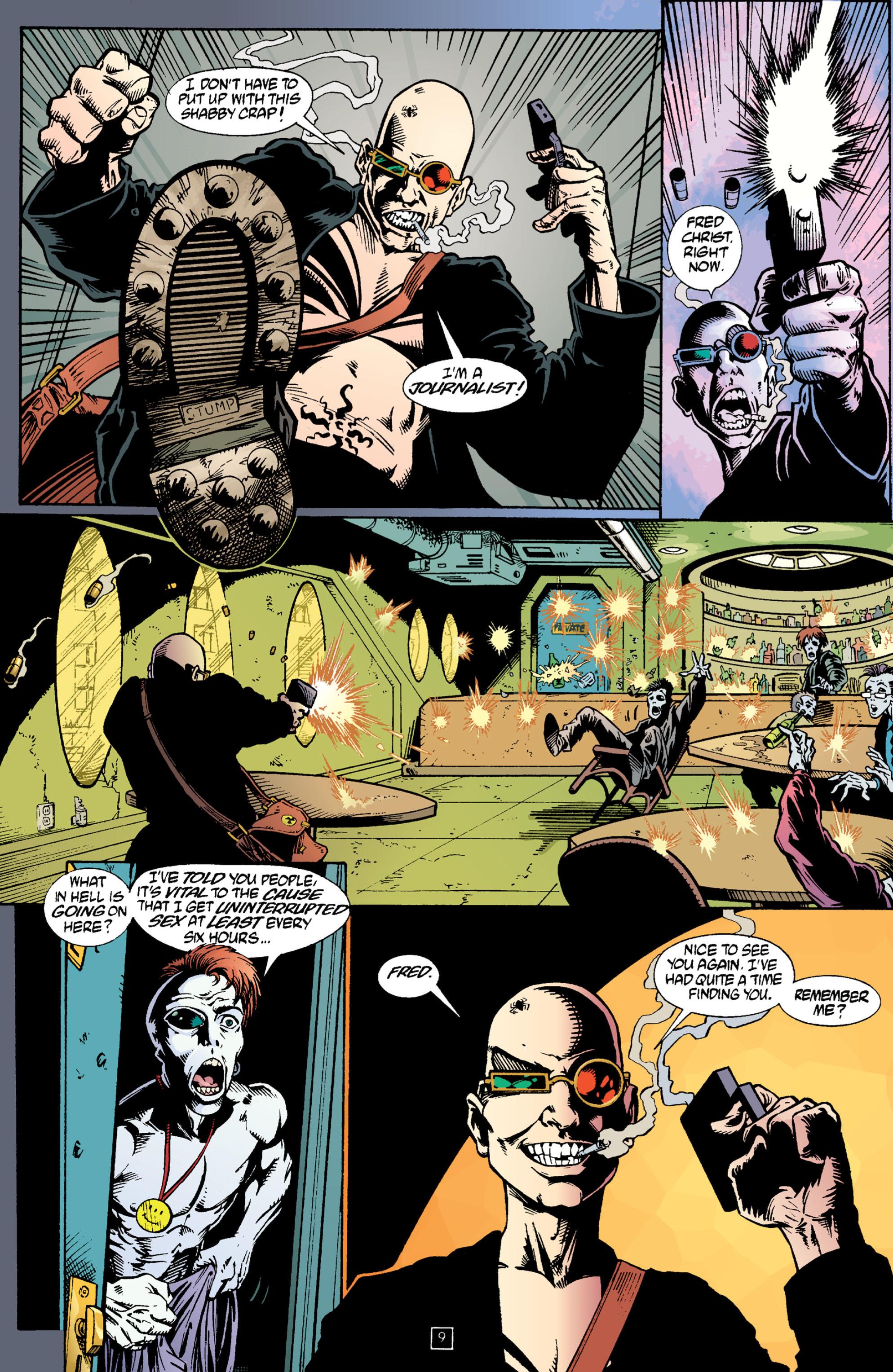 Read online Transmetropolitan comic -  Issue #2 - 10