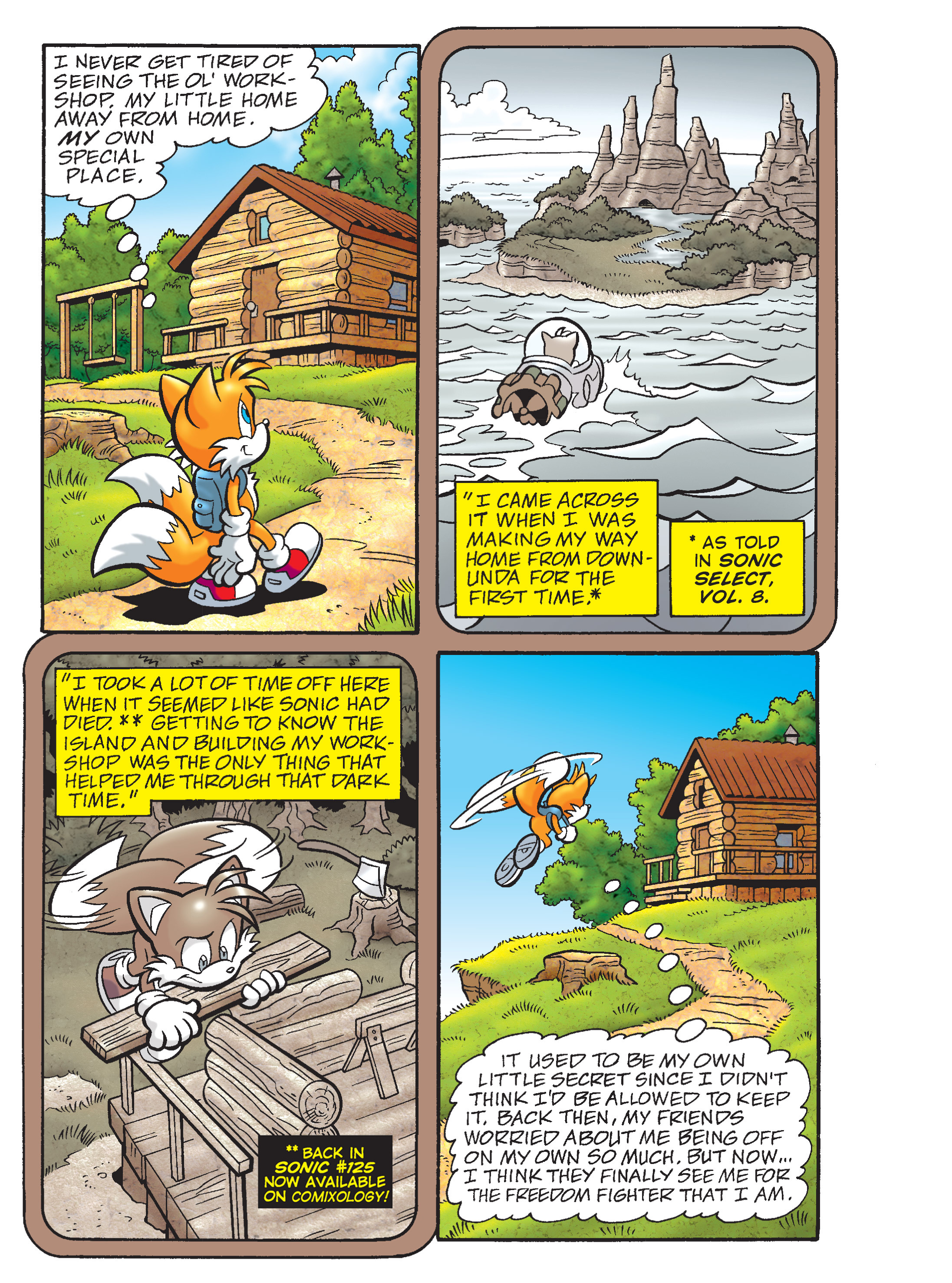 Read online Sonic Super Digest comic -  Issue #8 - 35