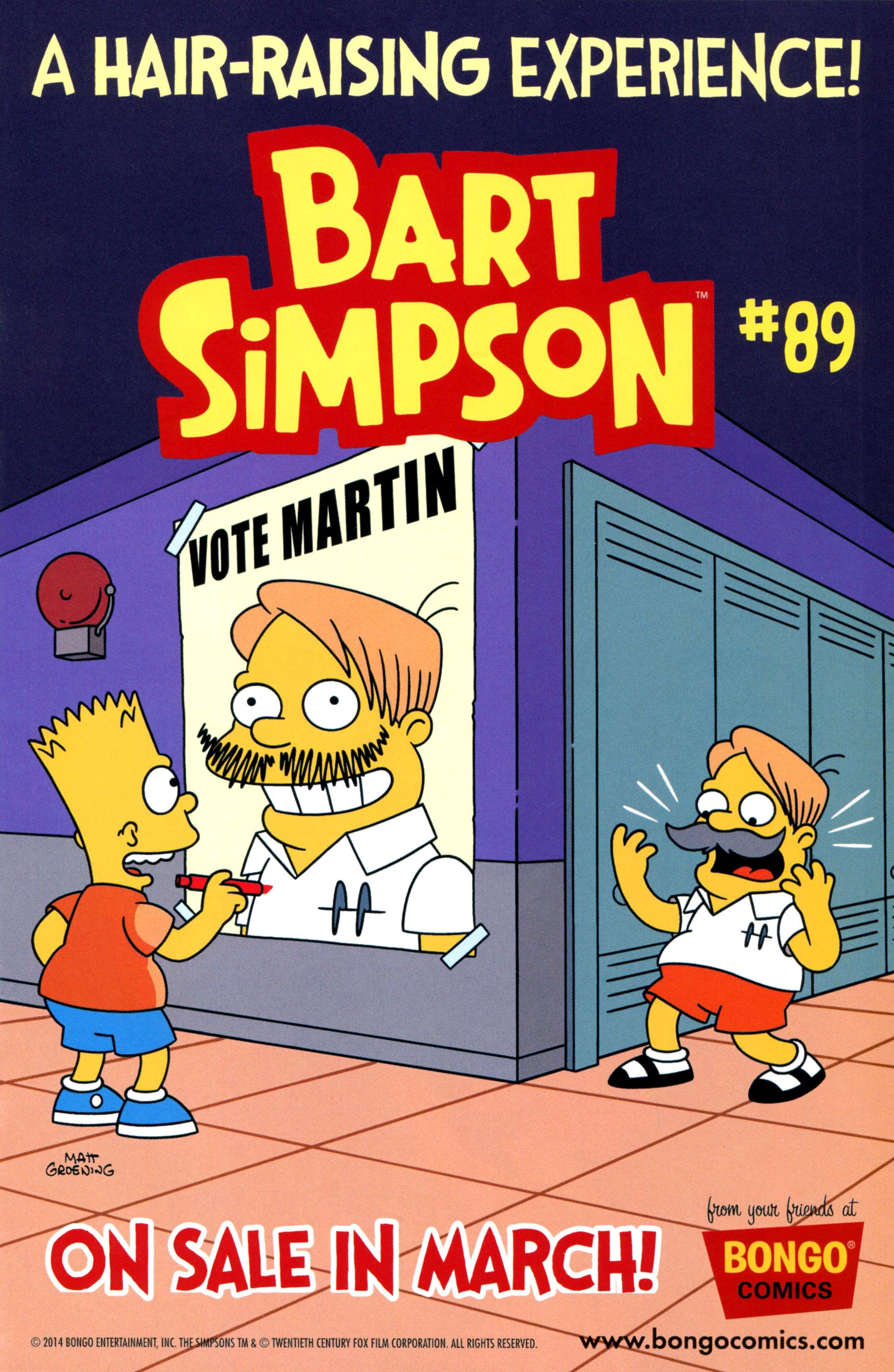 Read online Simpsons Comics comic -  Issue #208 - 25