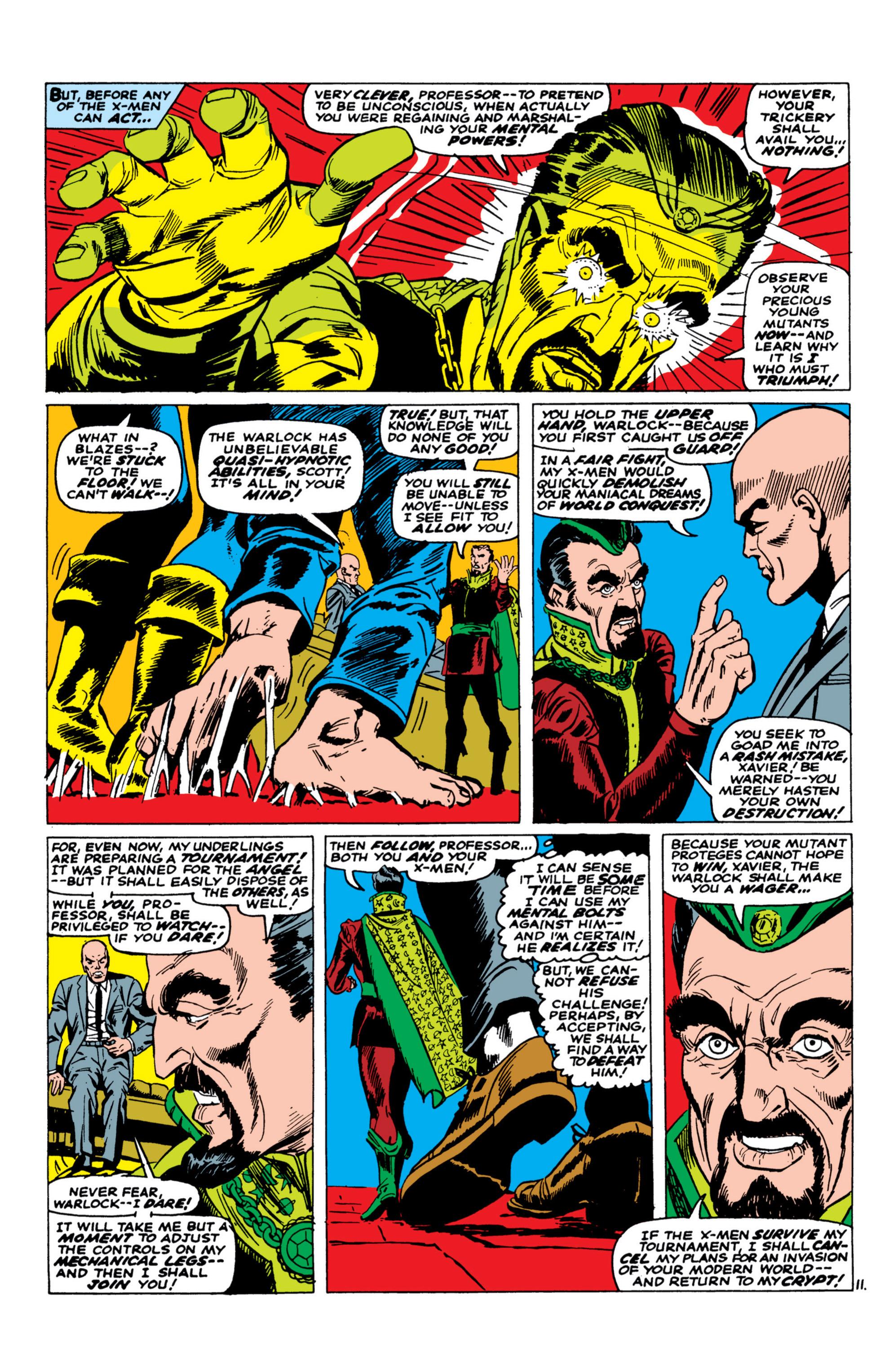 Uncanny X-Men (1963) 30 Page 11