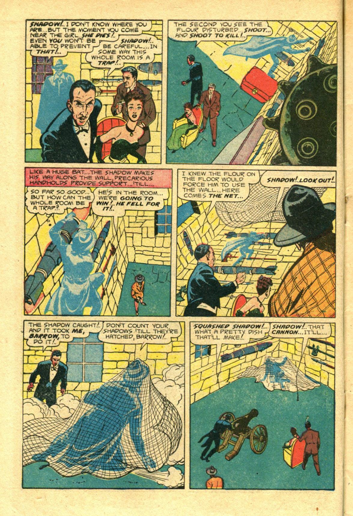 Read online Shadow Comics comic -  Issue #98 - 10