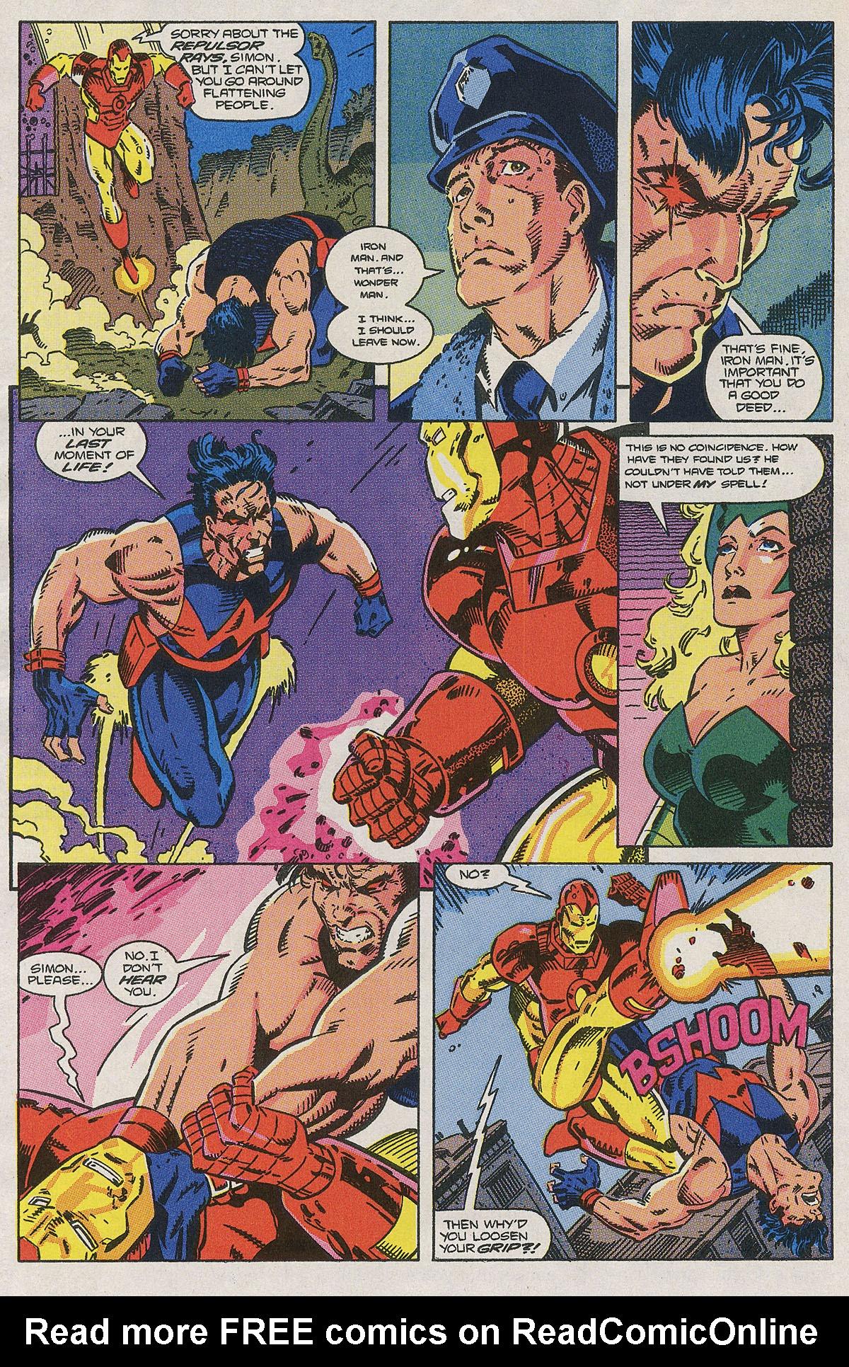 Read online Wonder Man (1991) comic -  Issue #2 - 17