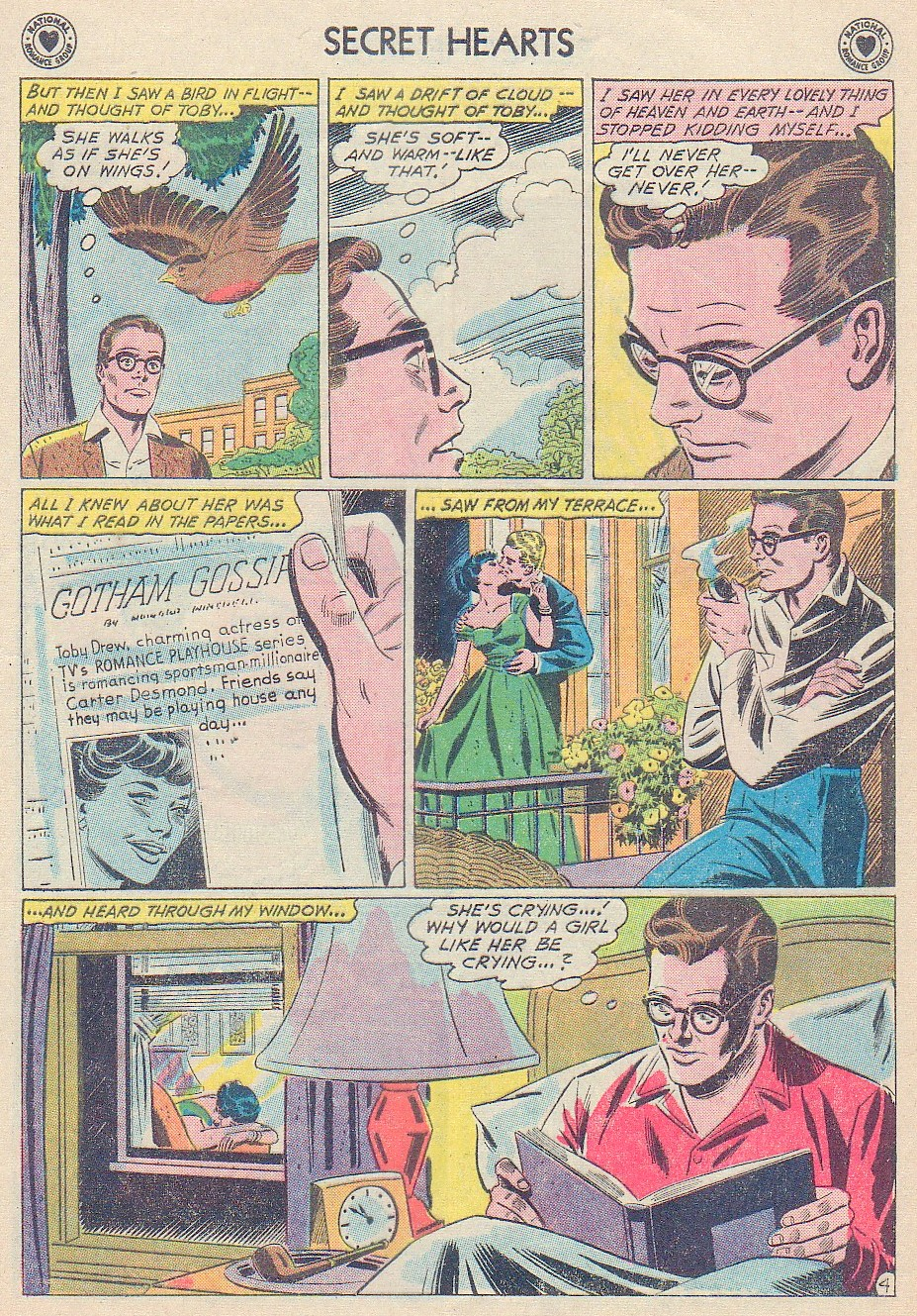 Read online Secret Hearts comic -  Issue #72 - 21