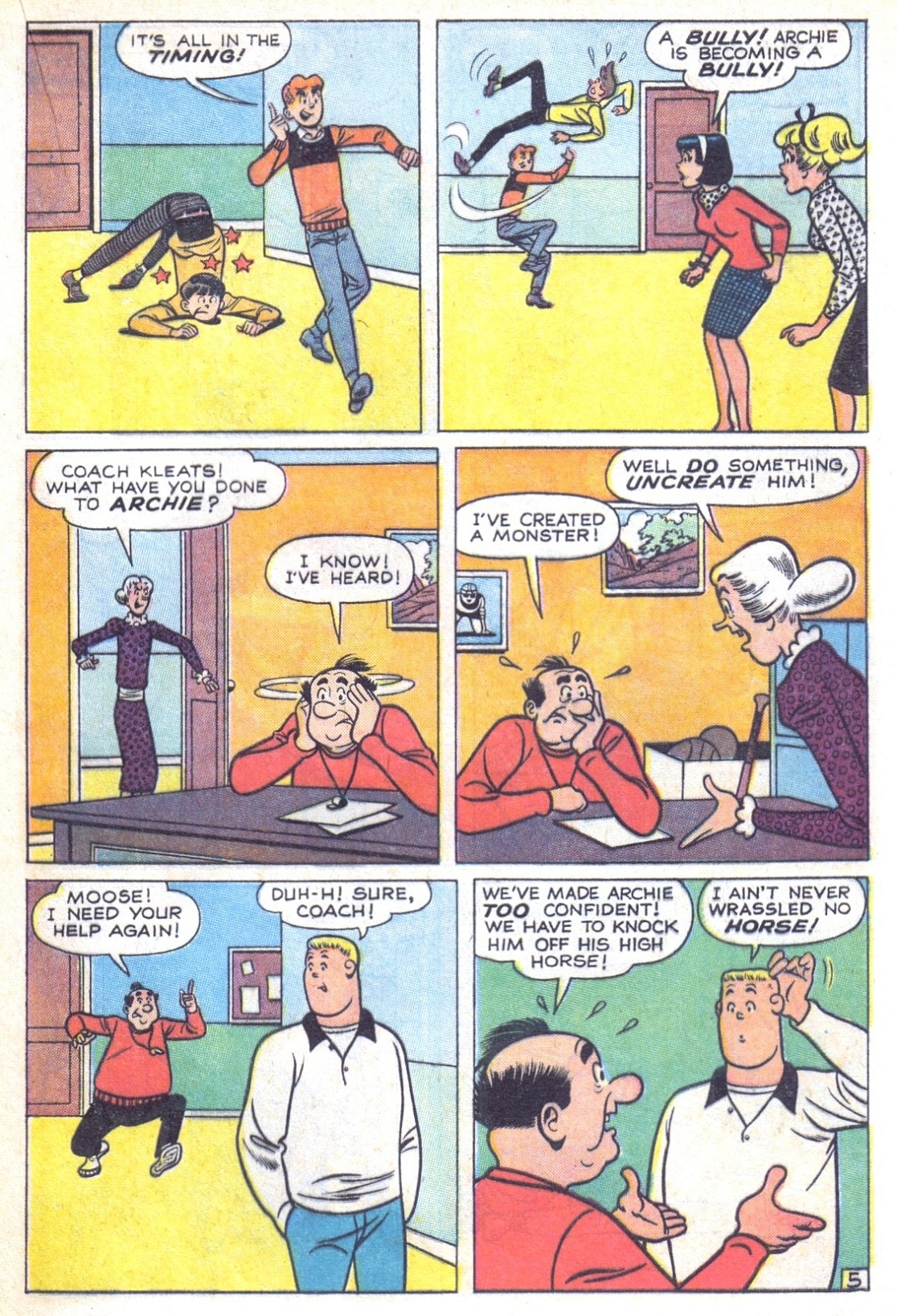 Read online Archie (1960) comic -  Issue #156 - 17
