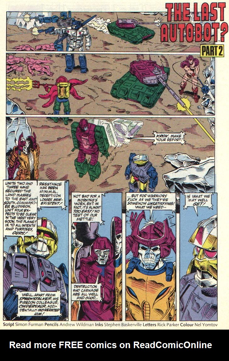 The Transformers (UK) 330 Page 2