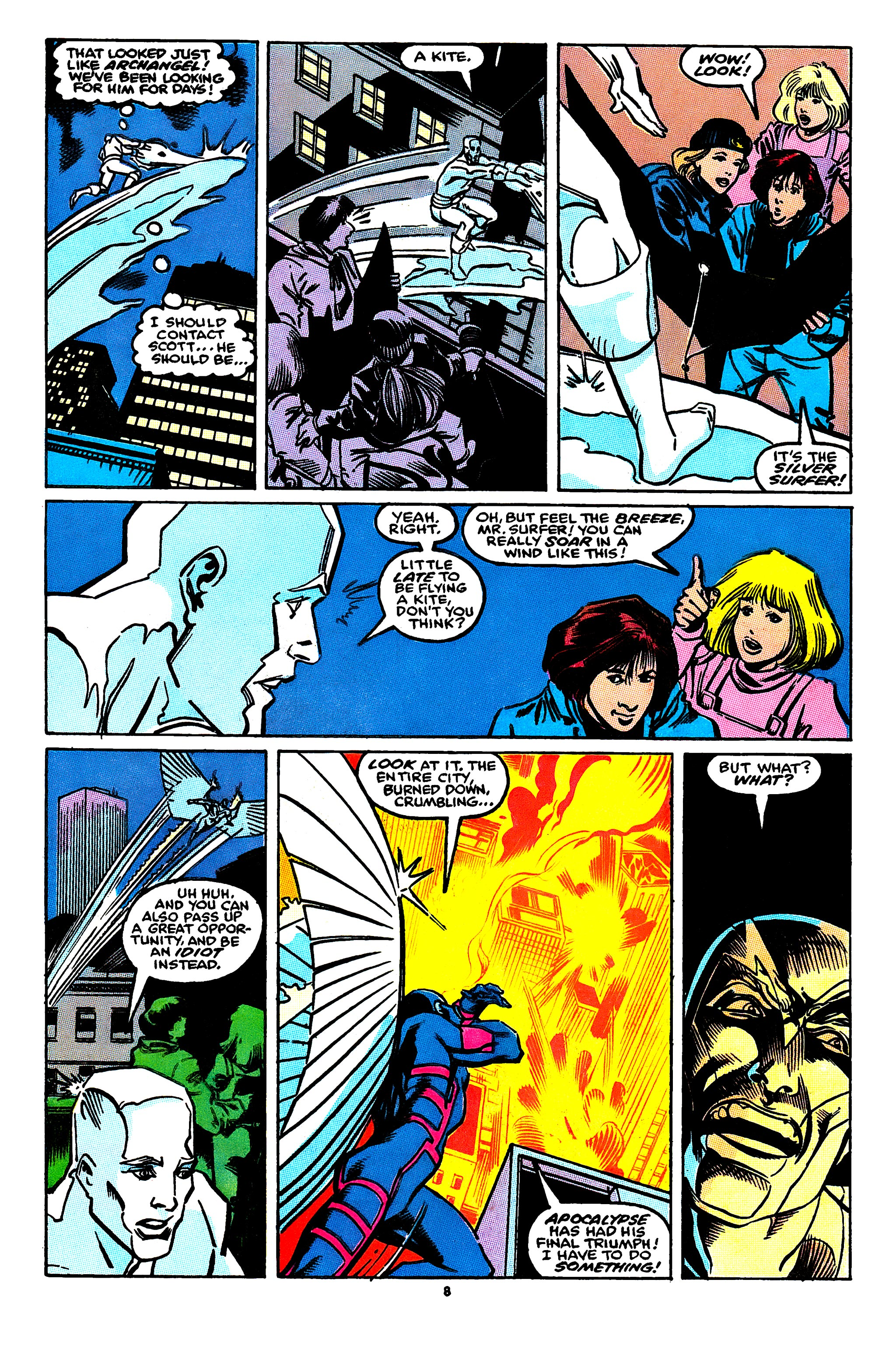 Read online X-Factor (1986) comic -  Issue #55 - 7