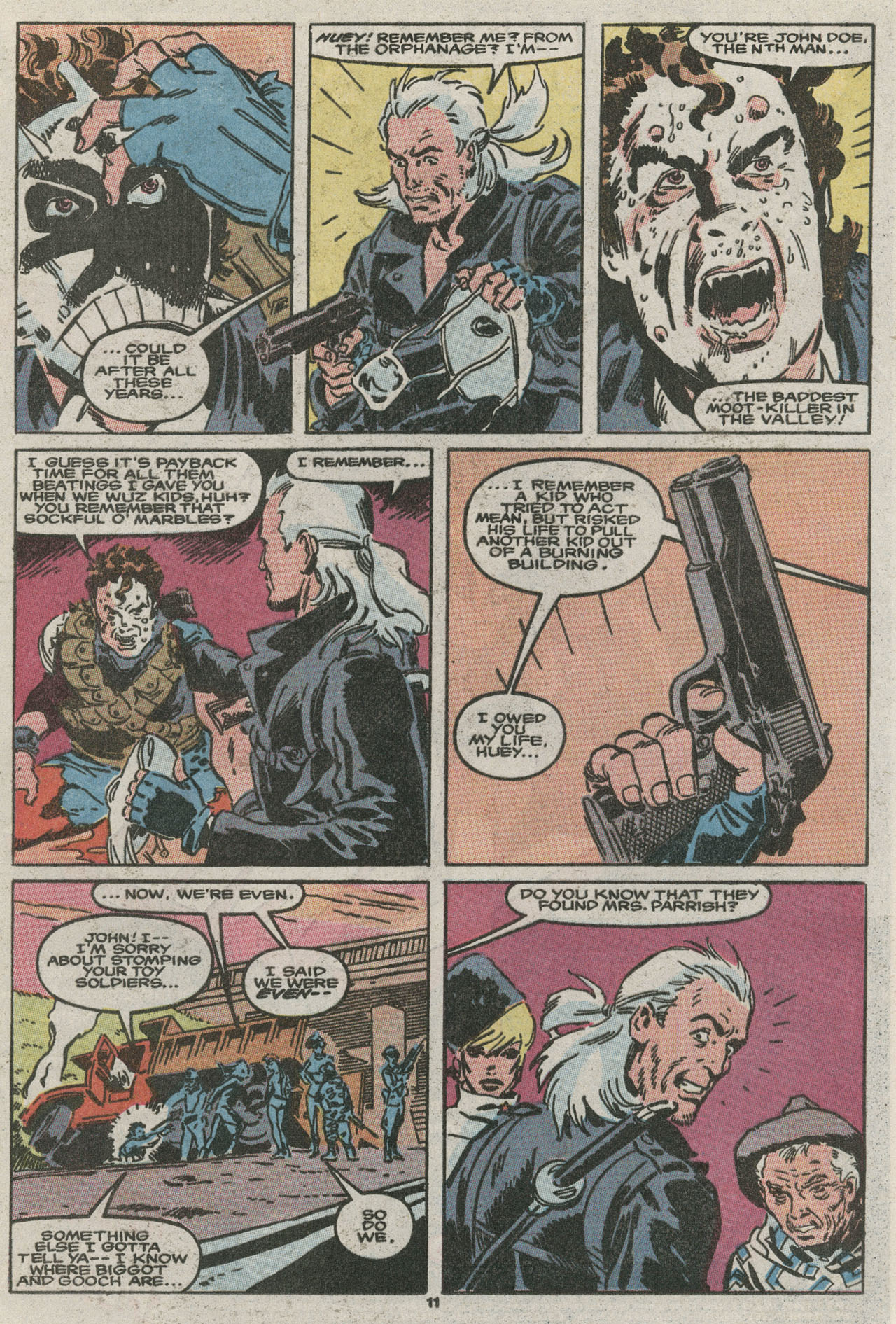 Read online Nth Man the Ultimate Ninja comic -  Issue #15 - 12