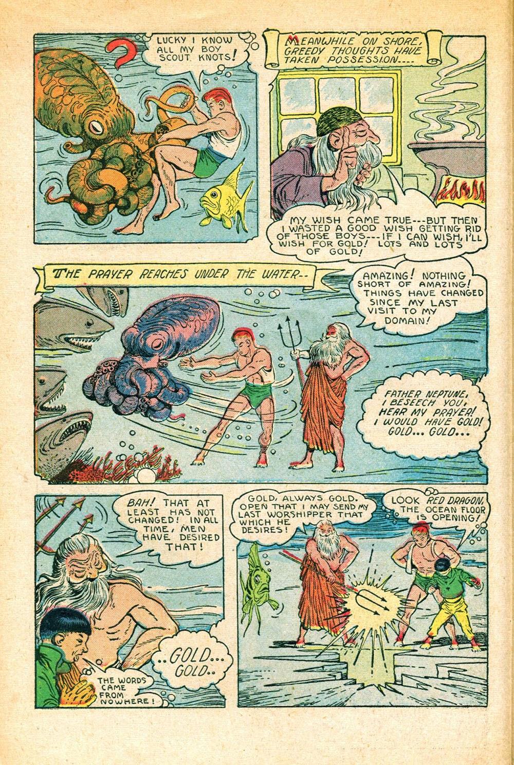 Read online Super-Magician Comics comic -  Issue #56 - 10