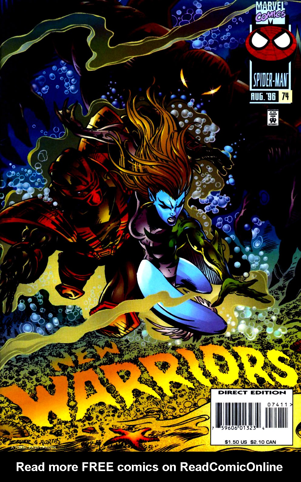 The New Warriors Issue #74 #78 - English 1
