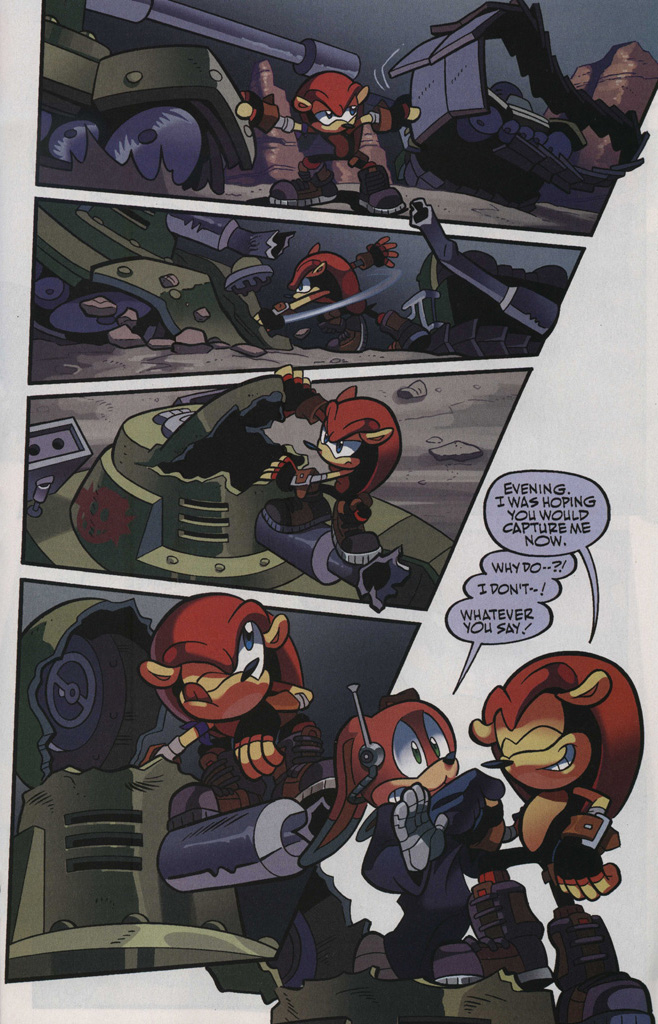 Read online Sonic Universe comic -  Issue #48 - 21