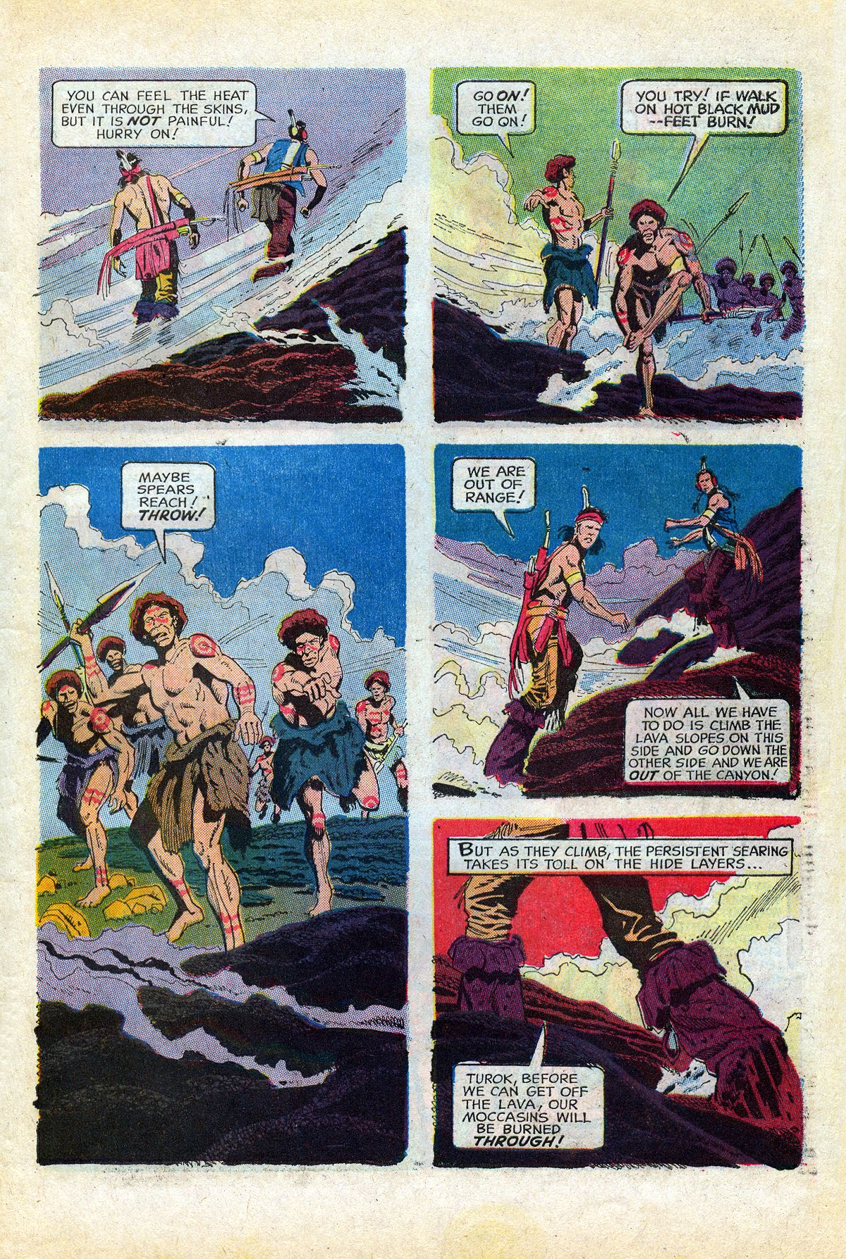 Read online Turok, Son of Stone comic -  Issue #66 - 31