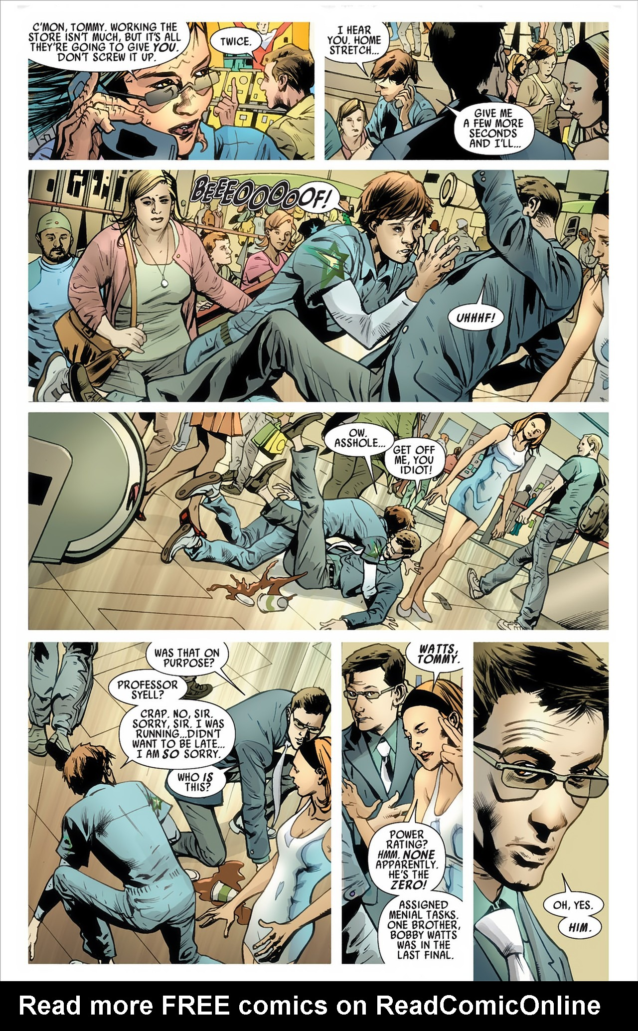 Read online America's Got Powers comic -  Issue #2 - 12