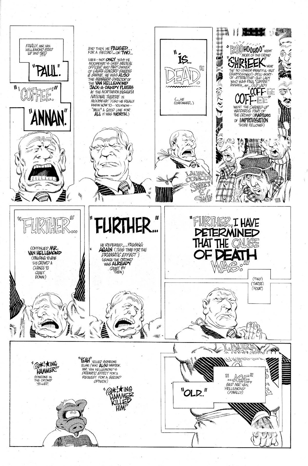 Cerebus Issue #267 #266 - English 21