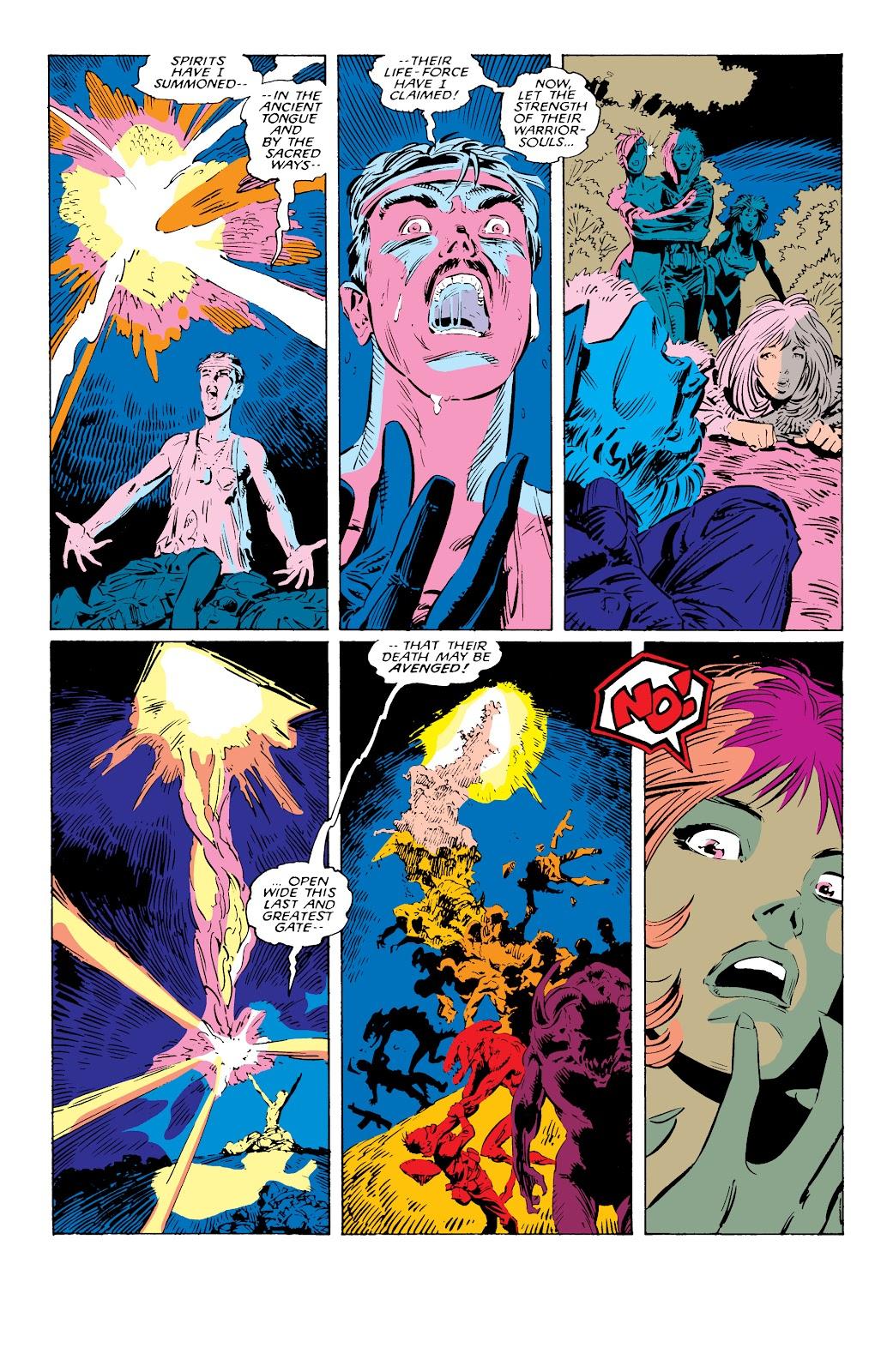 Read online X-Men Milestones: Fall of the Mutants comic -  Issue # TPB (Part 1) - 73
