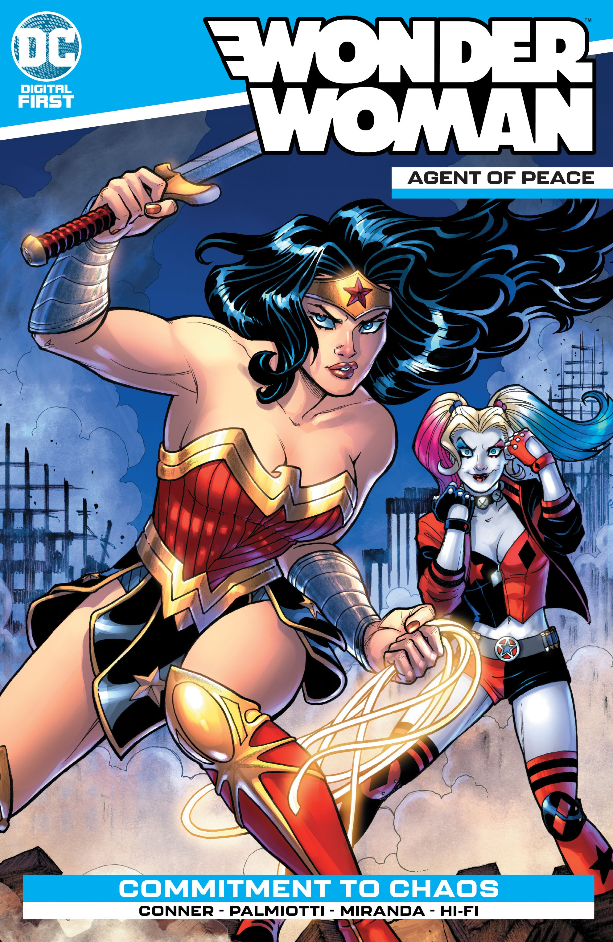 Wonder Woman: Agent of Peace Full Page 1