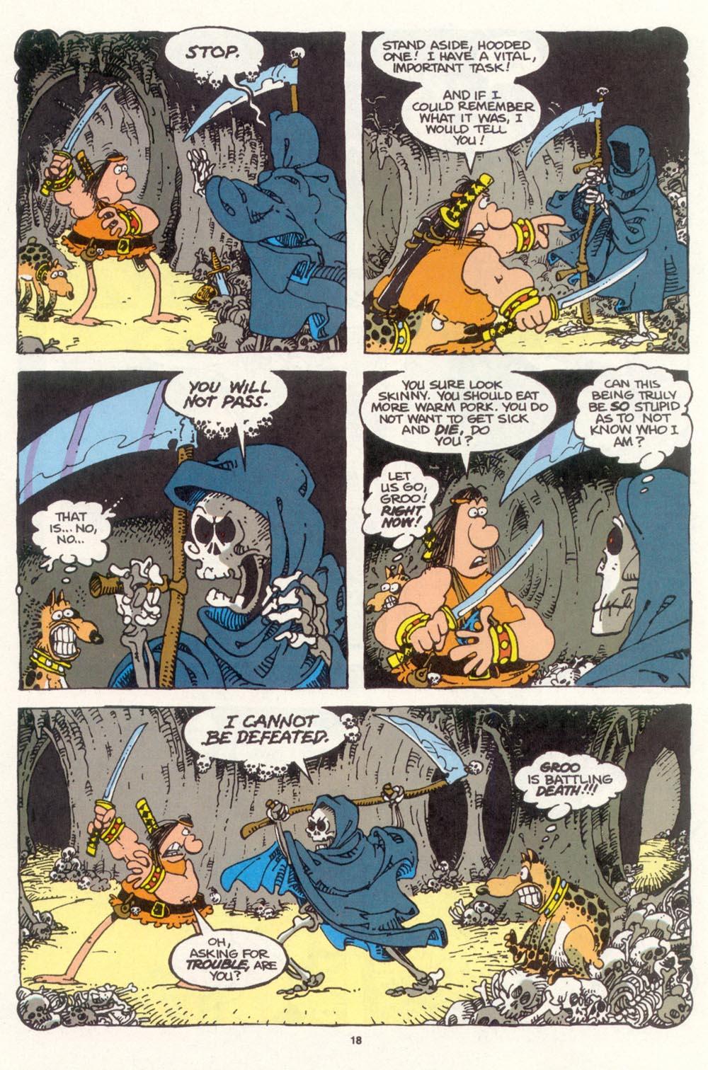 Read online Sergio Aragonés Groo the Wanderer comic -  Issue #99 - 19