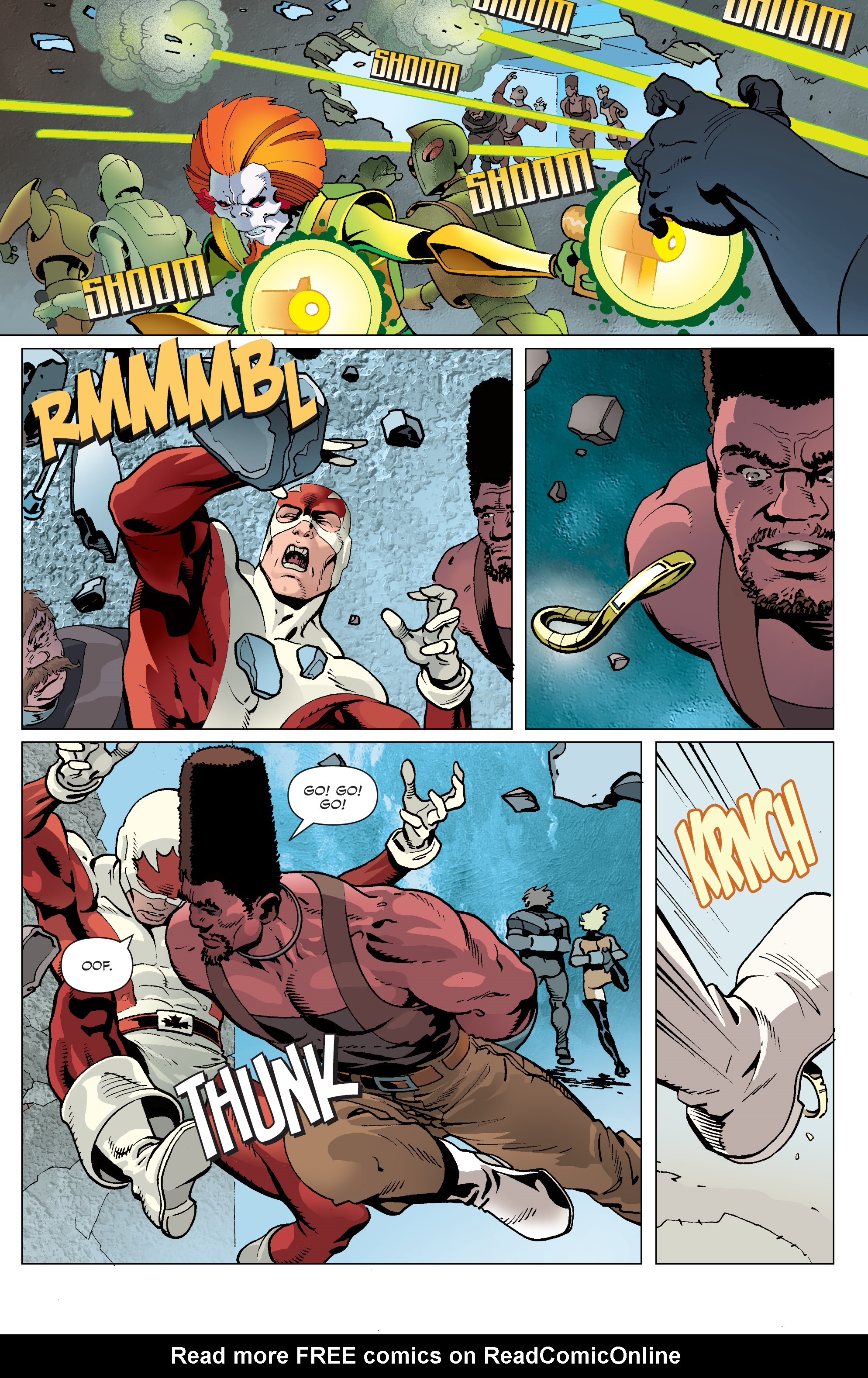 Read online All-New Classic Captain Canuck comic -  Issue #4 - 4