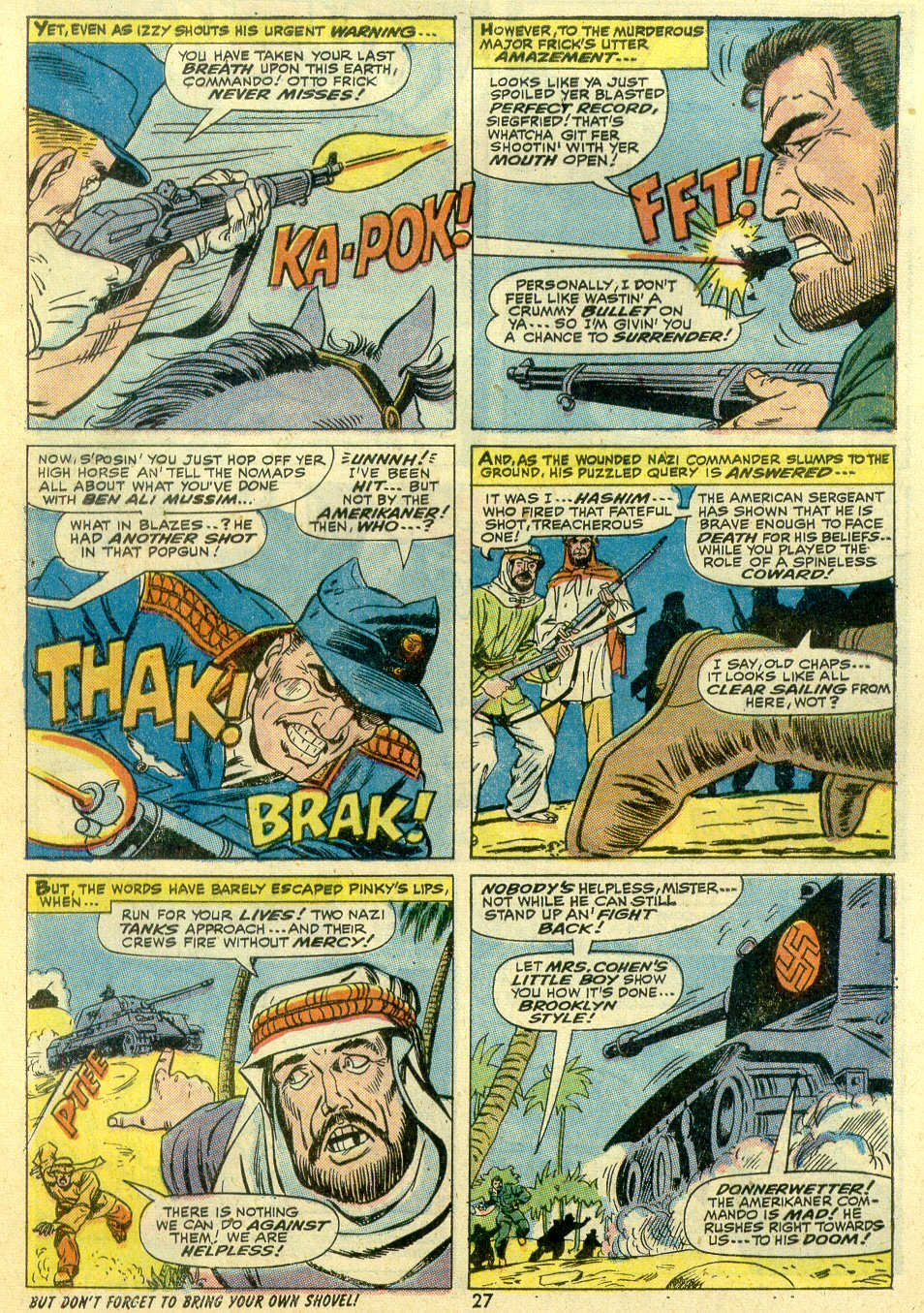 Read online Sgt. Fury comic -  Issue #107 - 29