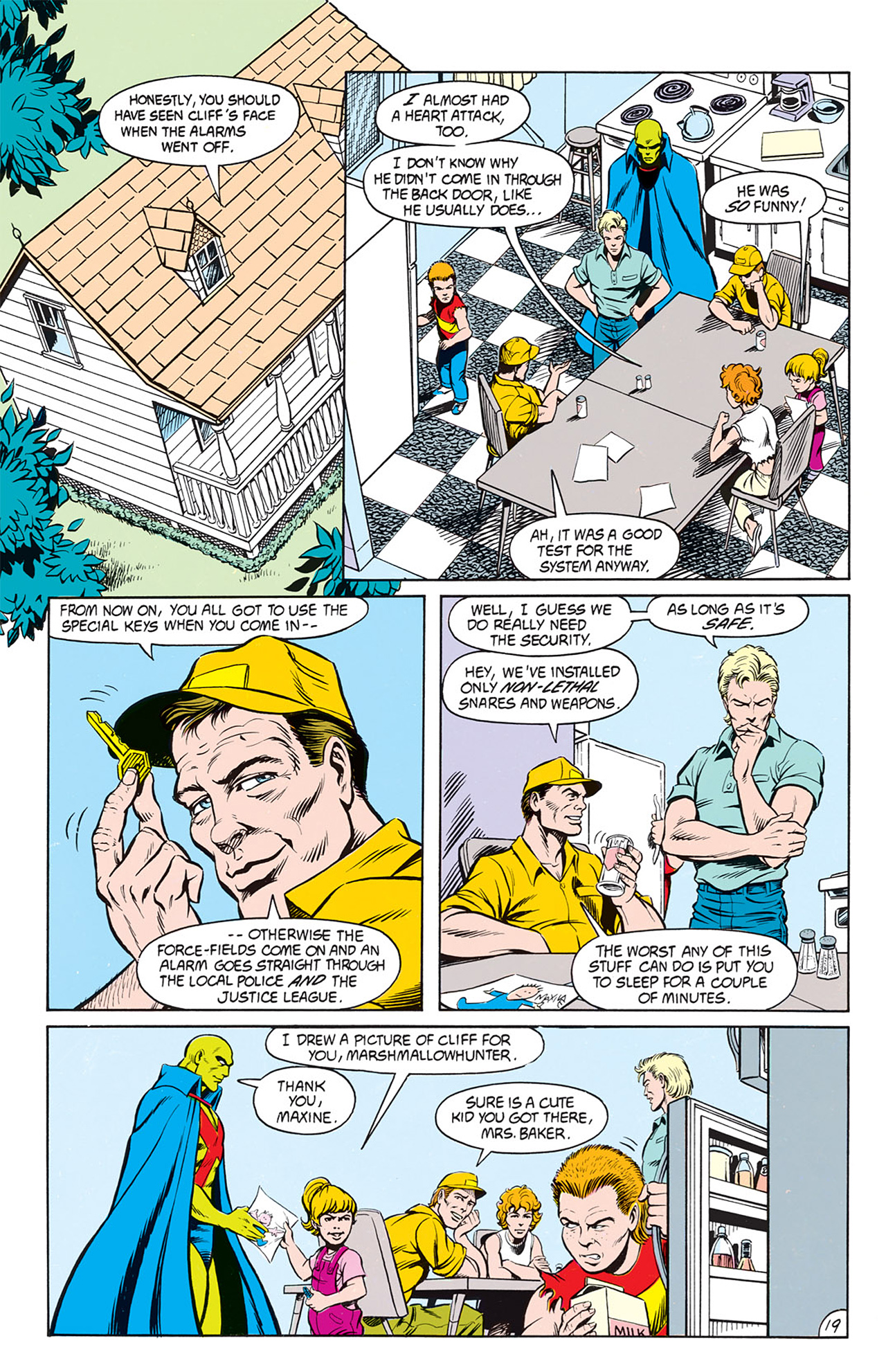 Read online Animal Man (1988) comic -  Issue #9 - 21