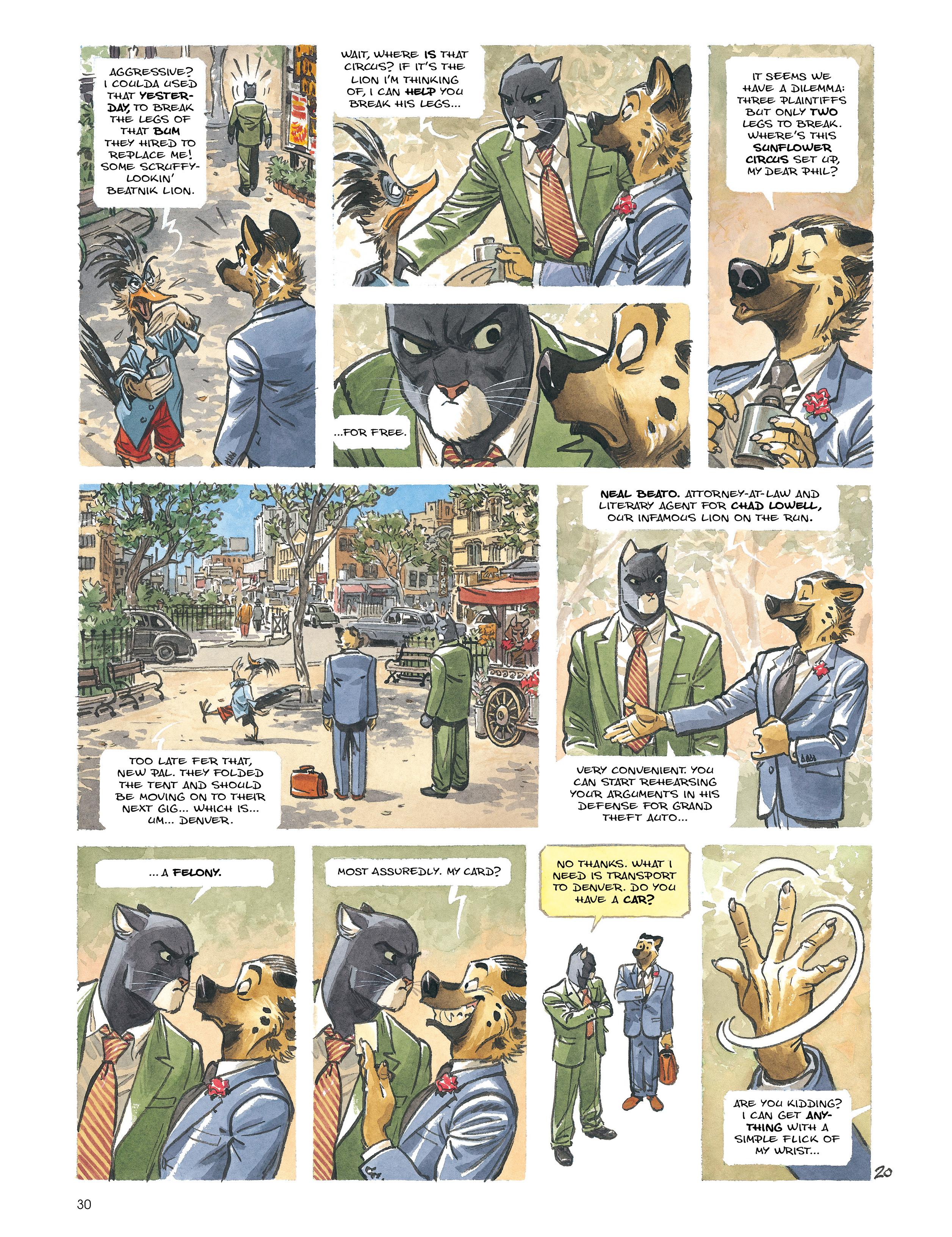 Read online Blacksad: Amarillo comic -  Issue # Full - 29