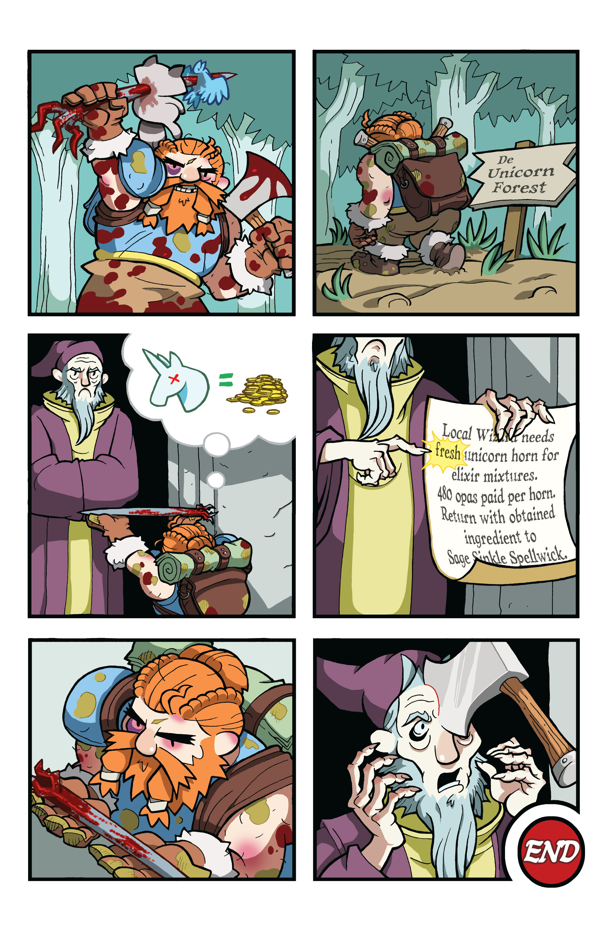 Read online Skullkickers comic -  Issue #12 - 14