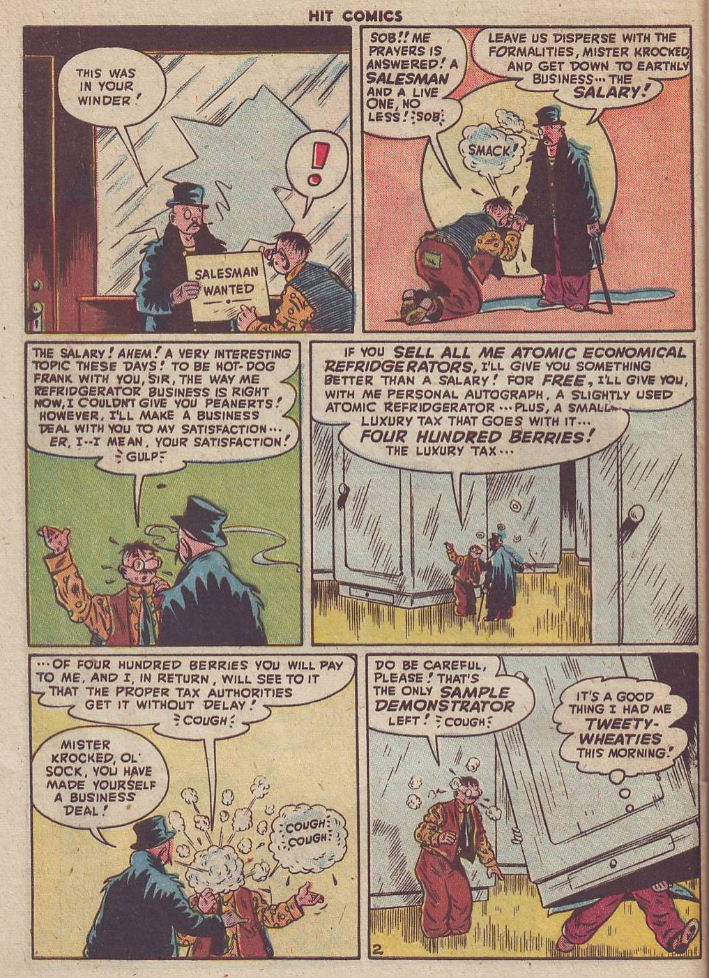Read online Hit Comics comic -  Issue #51 - 40