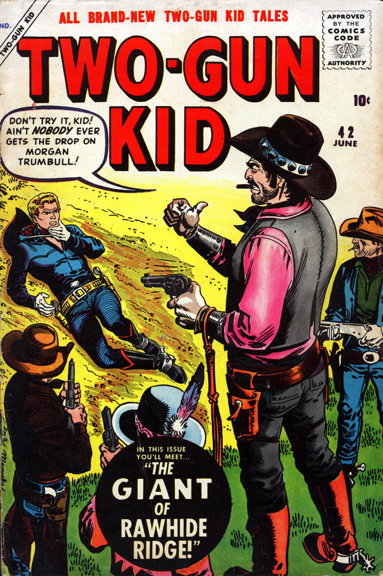 Read online Two-Gun Kid comic -  Issue #42 - 1
