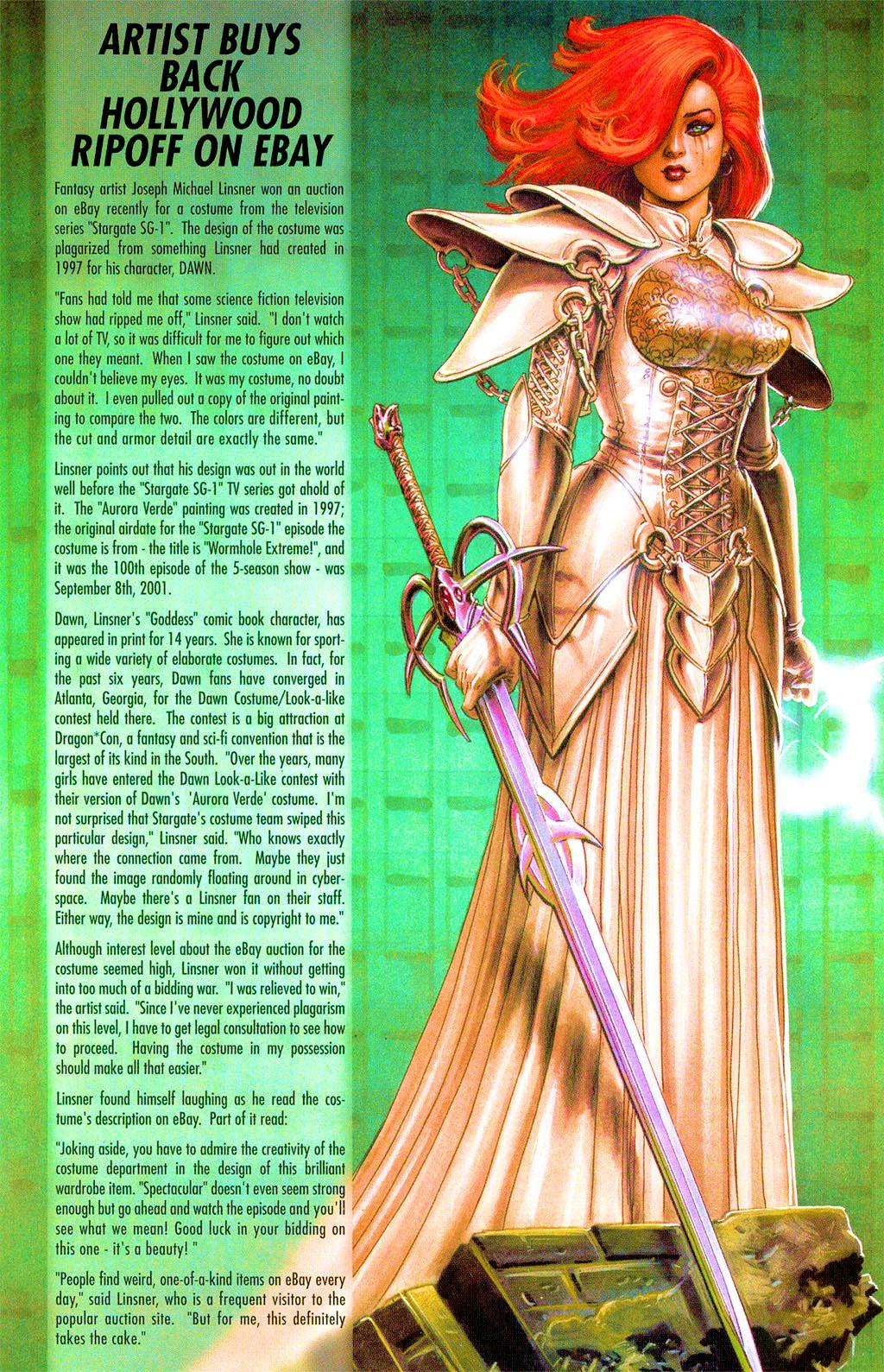 Read online Dawn: Three Tiers comic -  Issue #3 - 29