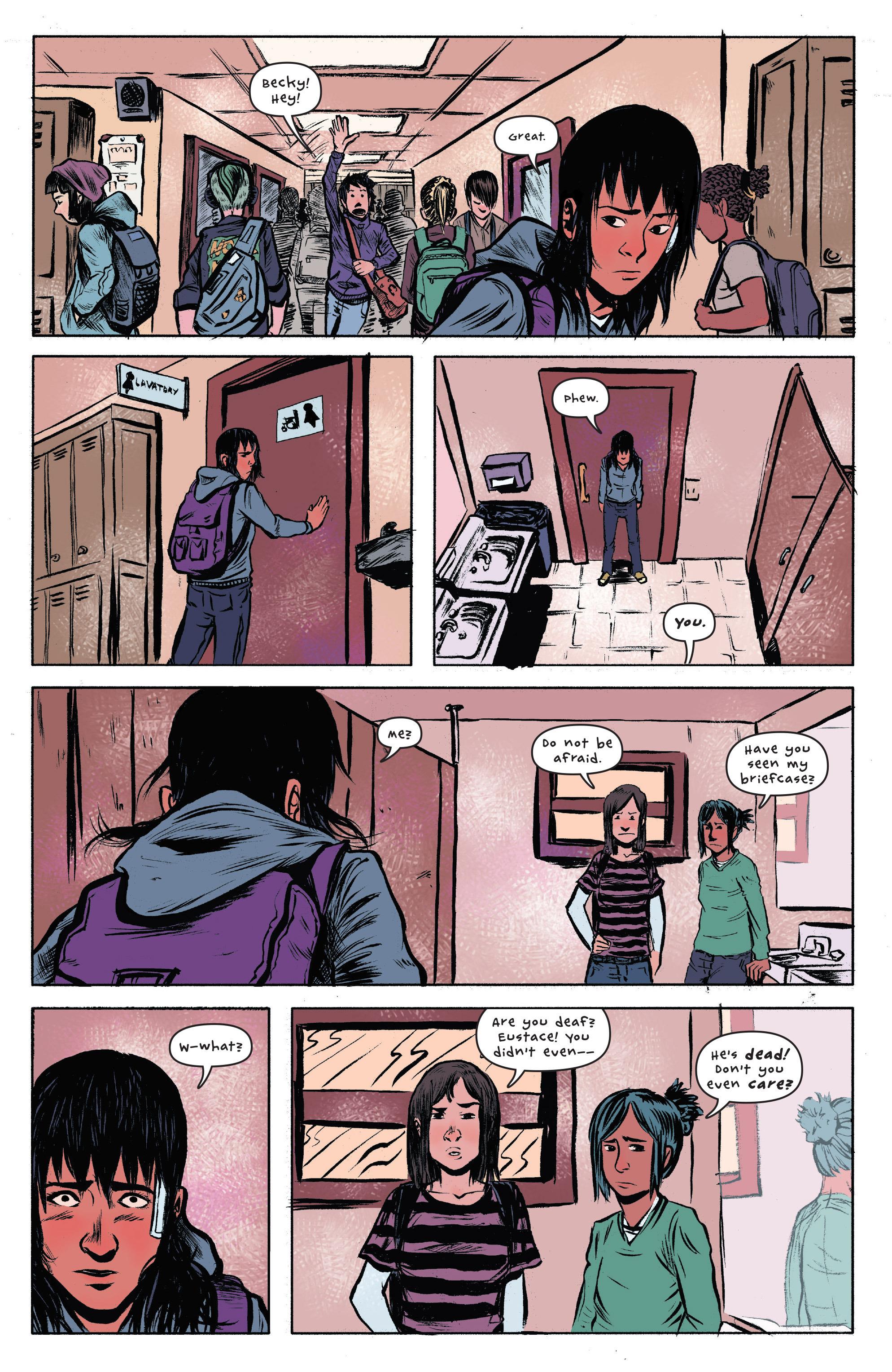 Read online UFOlogy comic -  Issue #3 - 9