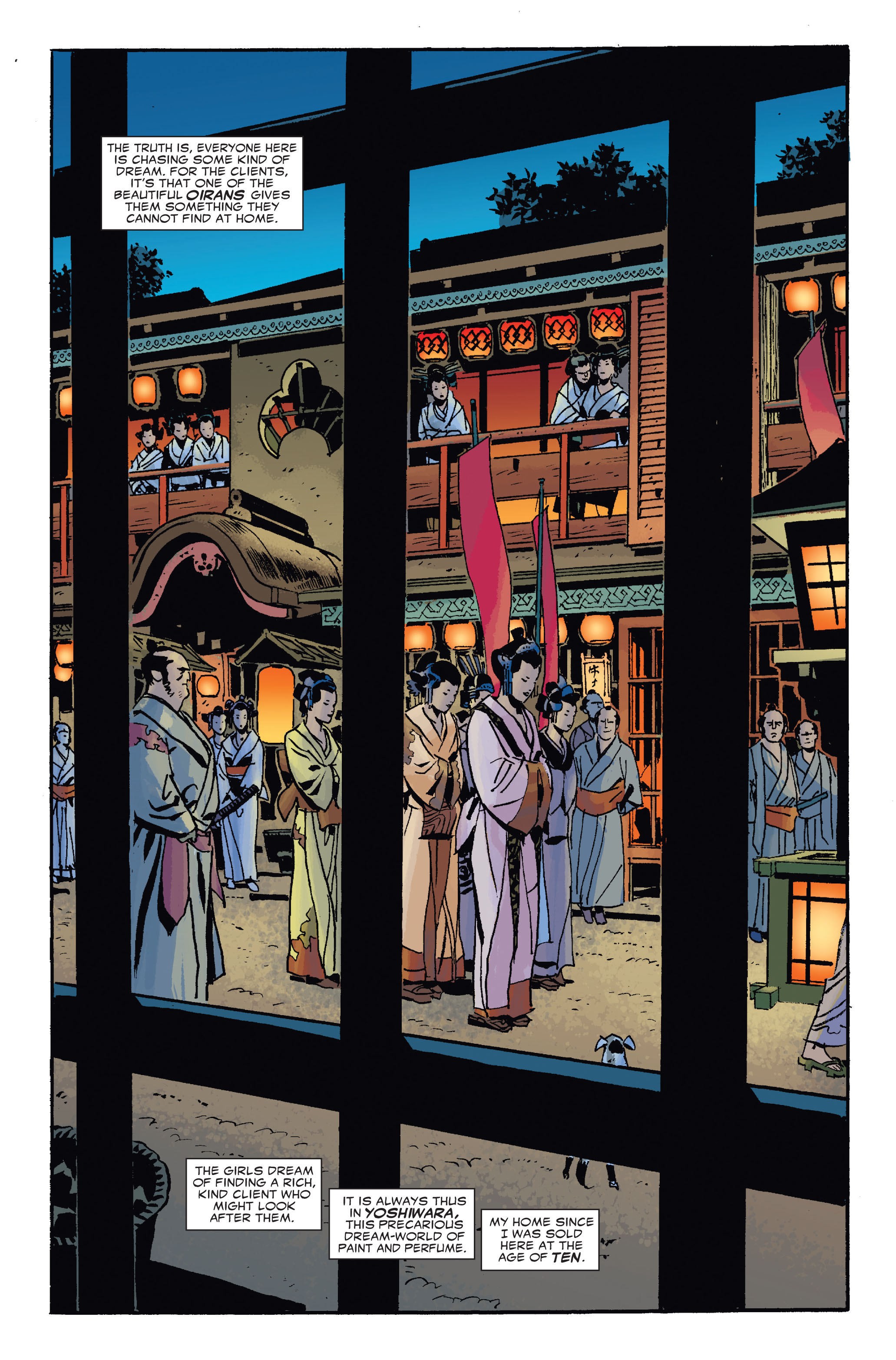 Read online 5 Ronin (2011) comic -  Issue #4 - 5