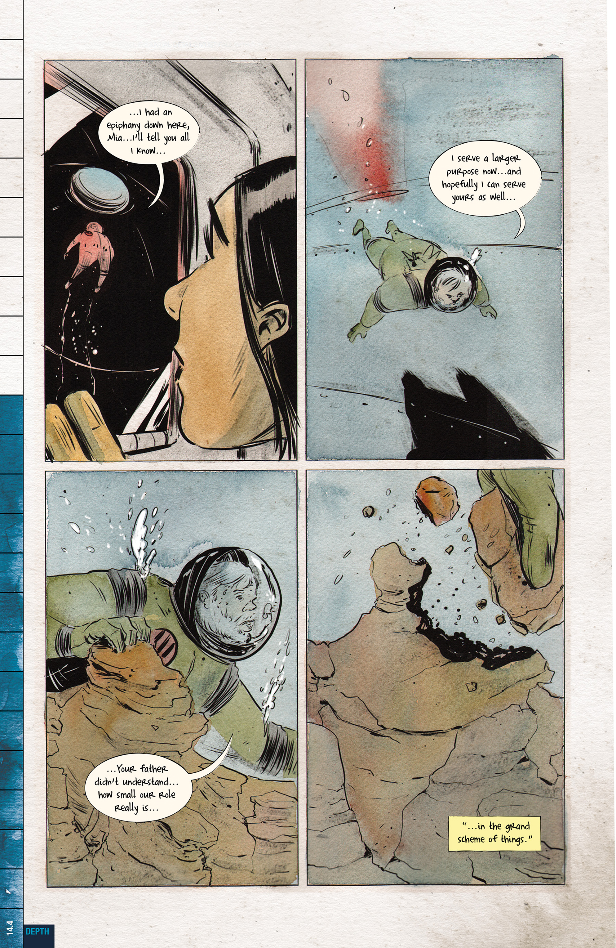 Read online Dept. H comic -  Issue #14 - 6