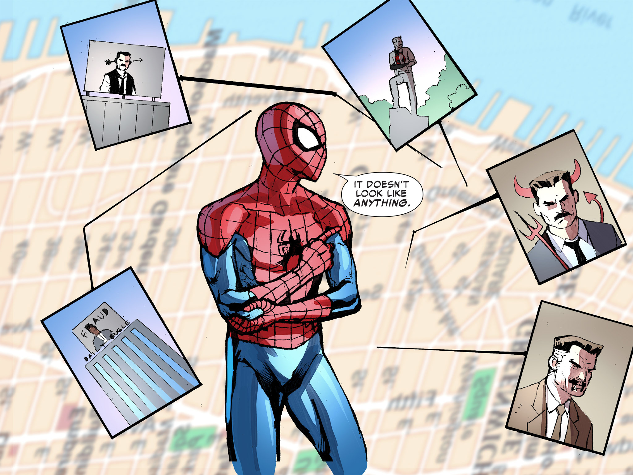 Read online Ultimate Spider-Man (Infinite Comics) (2016) comic -  Issue #8 - 34