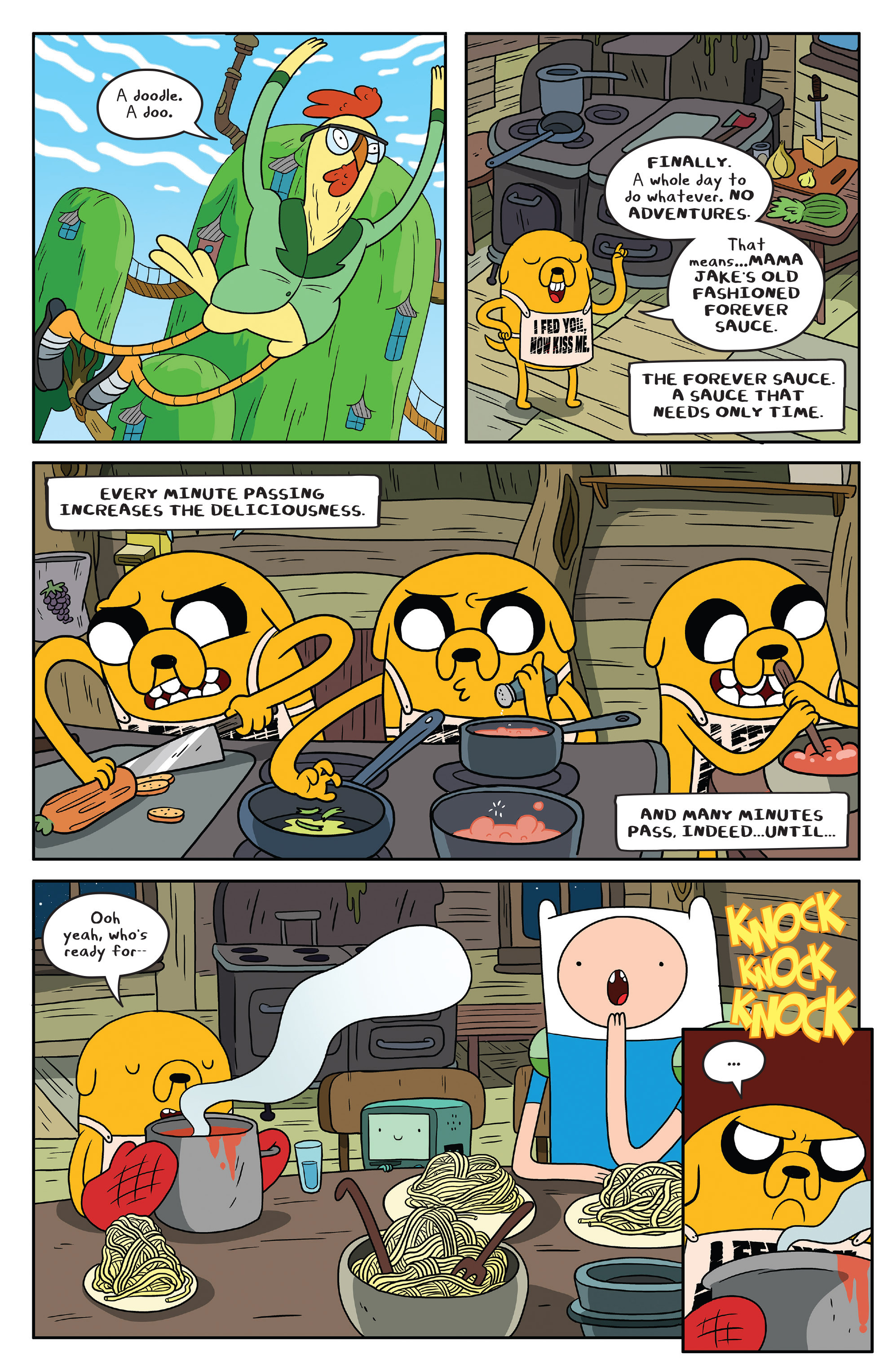 Read online Adventure Time comic -  Issue #51 - 7
