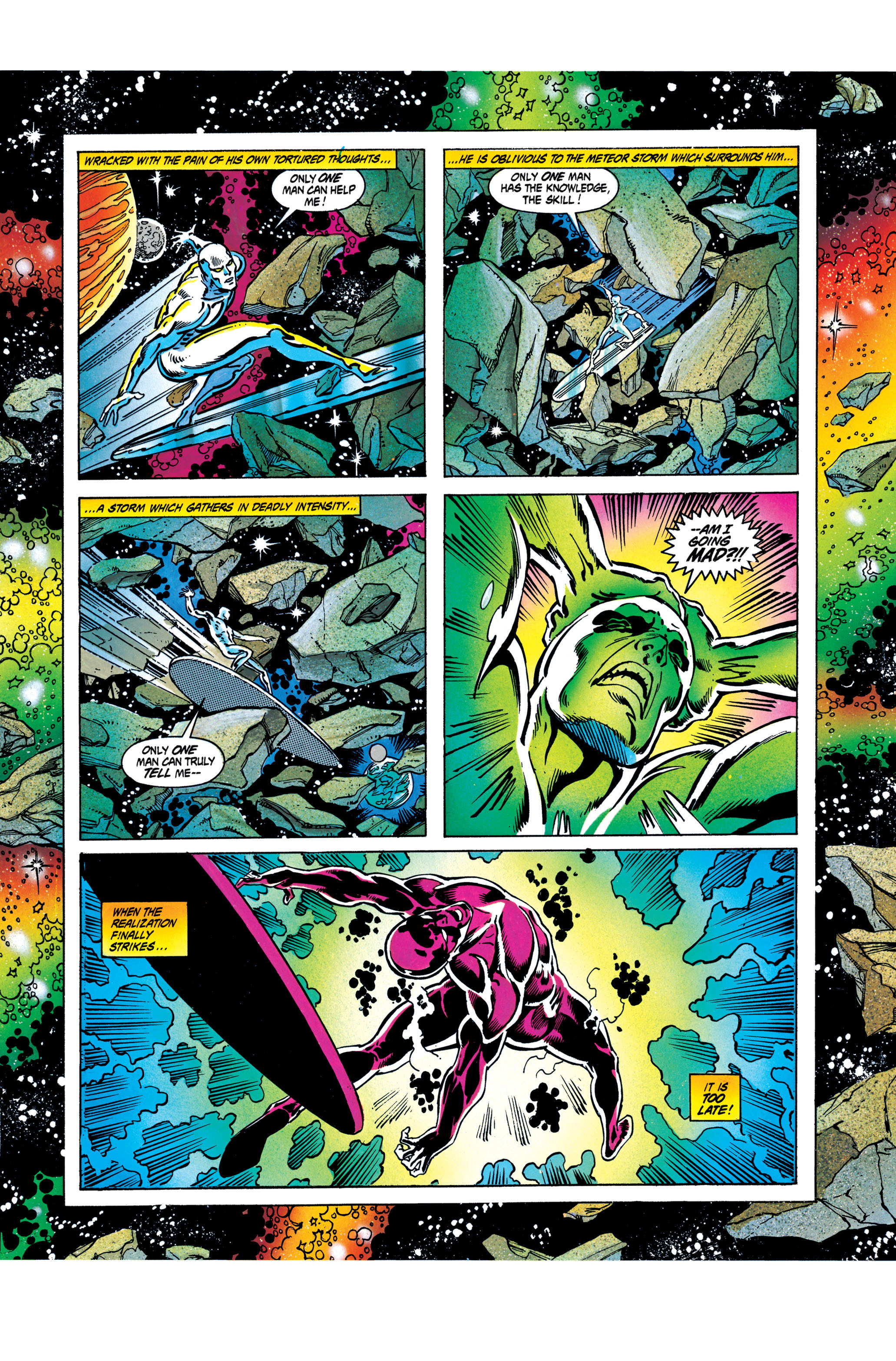 Read online Silver Surfer: Parable comic -  Issue # TPB - 62