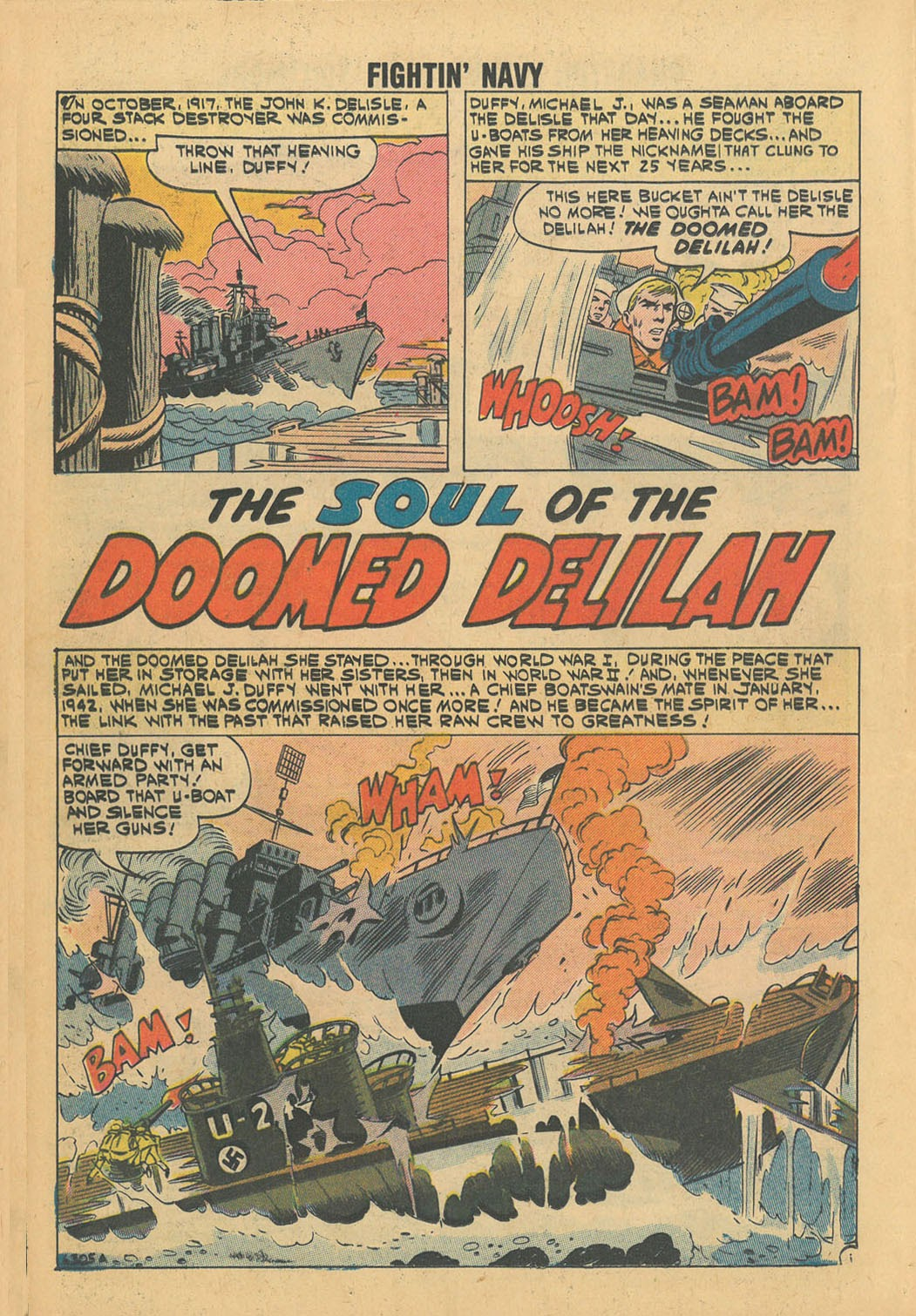 Read online Fightin' Navy comic -  Issue #100 - 12