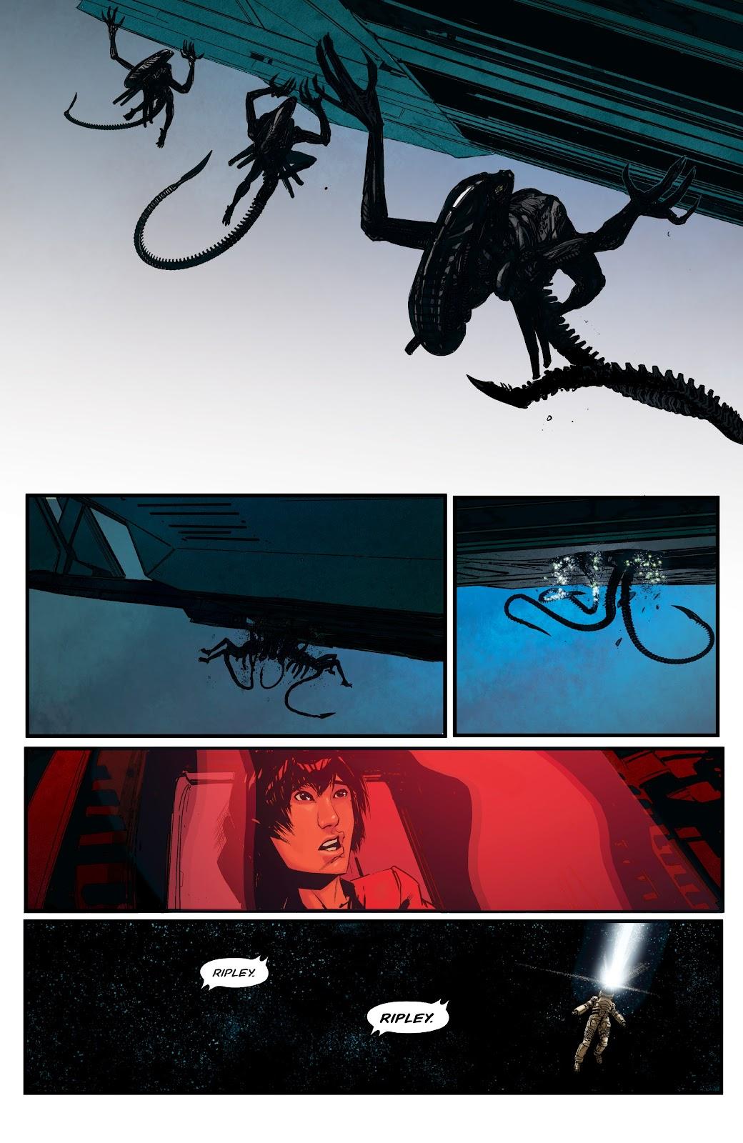 Read online Aliens: Resistance comic -  Issue #1 - 20