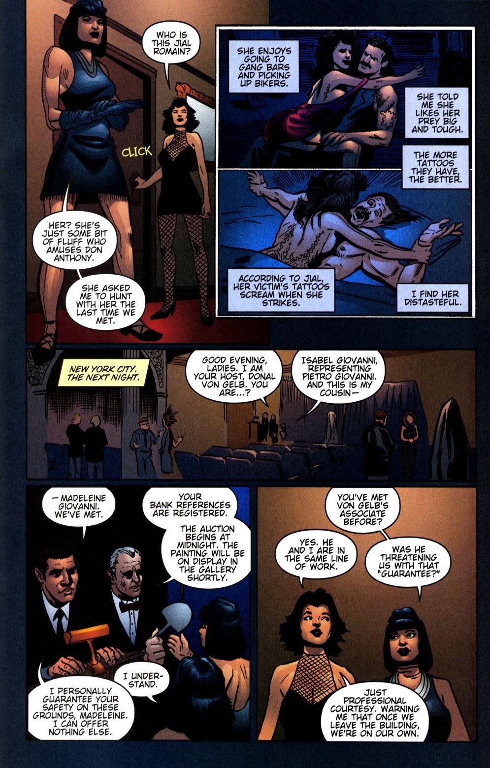 Read online Vampire the Masquerade comic -  Issue # Giovanni - 25